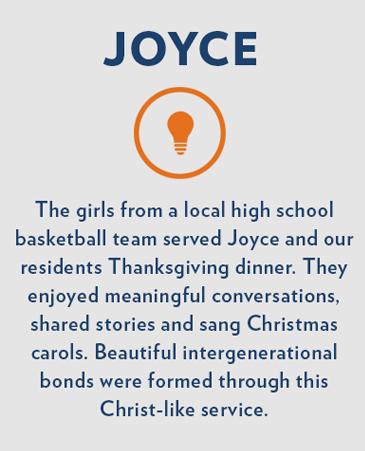 Joyce, Bethesda Gardens Monument Memory Care