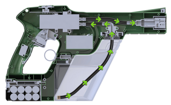 Victory Electrostatic Nozzle Sprayer Diagram