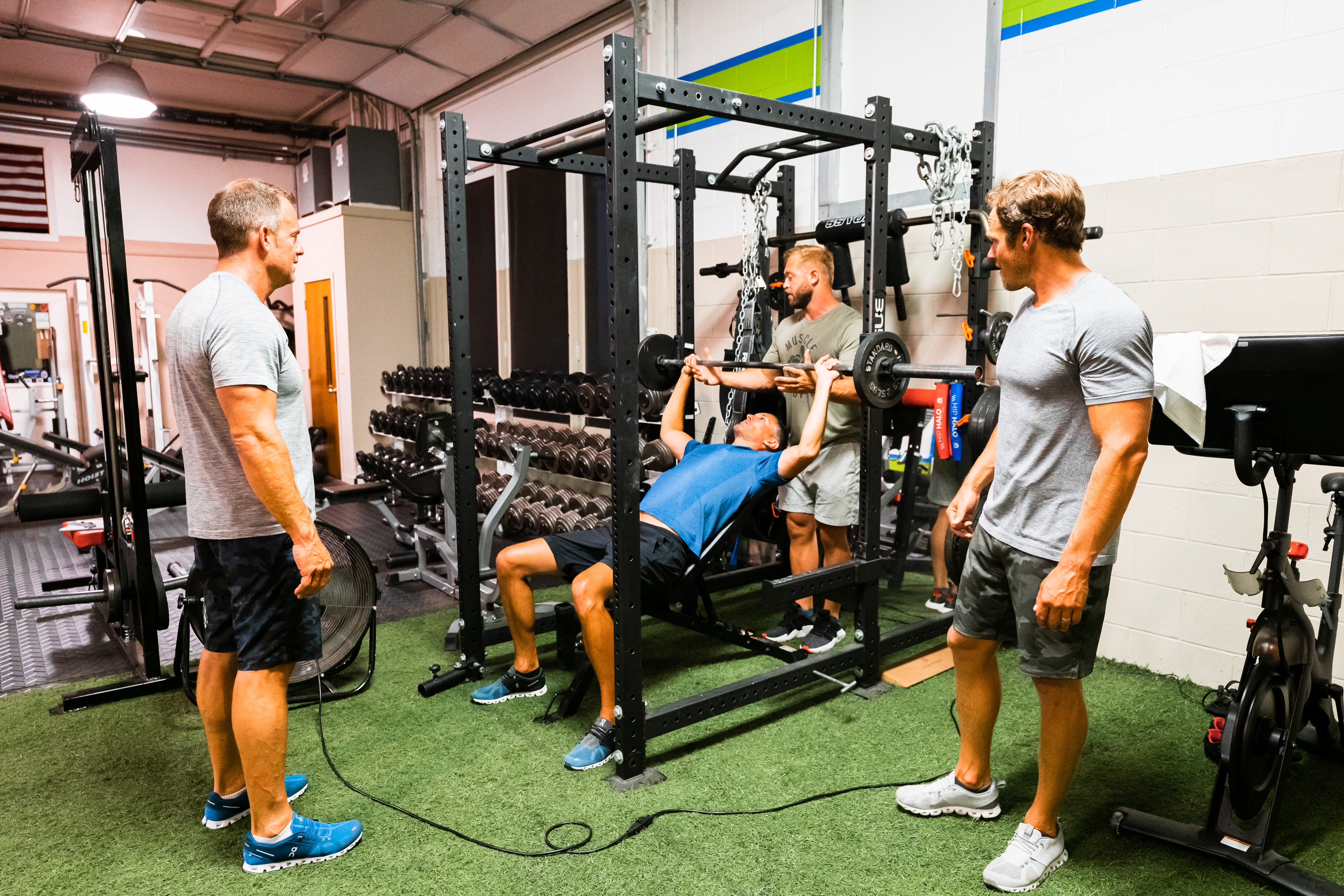 Semi-Private training at Prevail Grand Rapids personal training and gym located in Ada, Michigan.