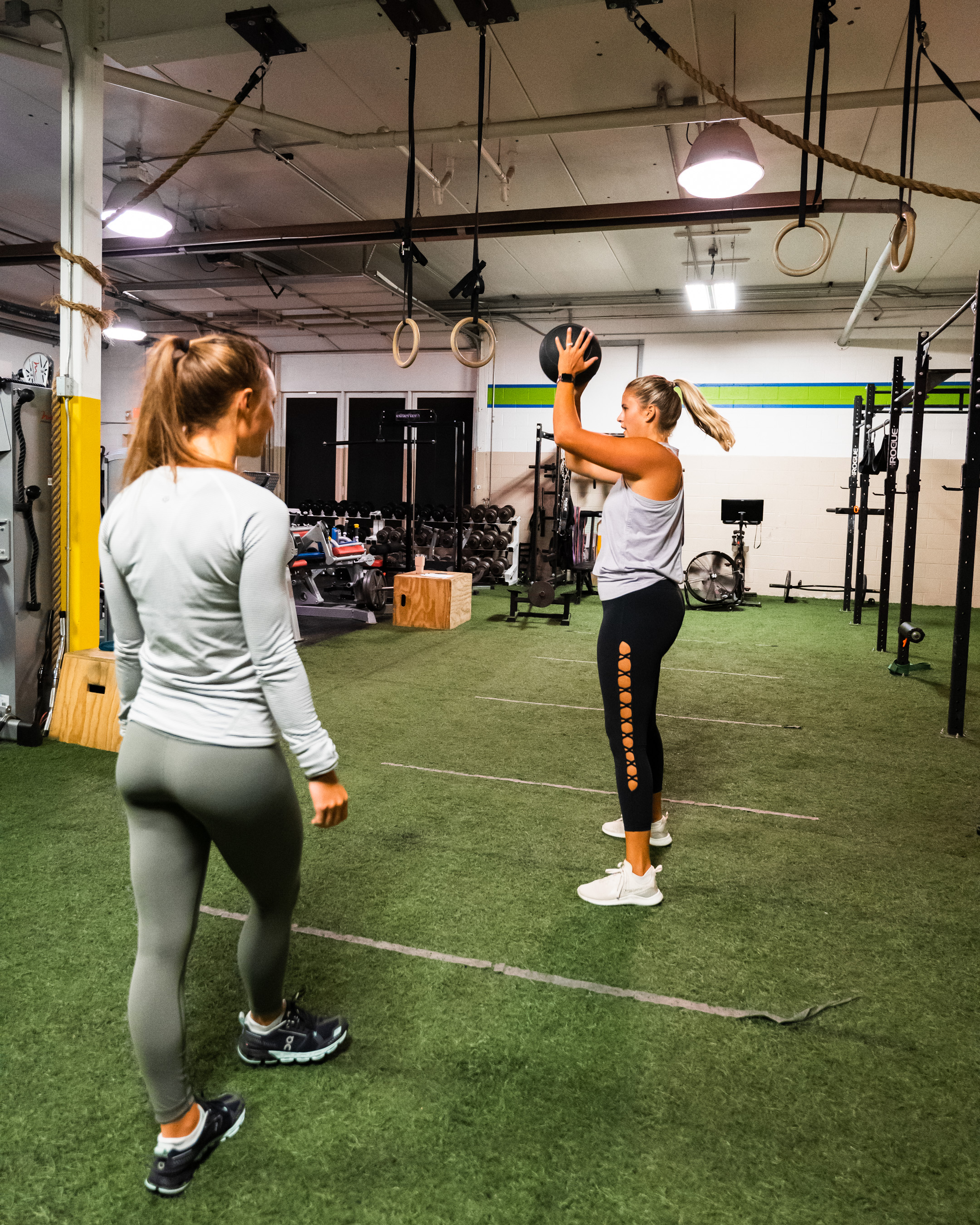 Private training at Prevail Grand Rapids personal training and gym located in Ada, Michigan.