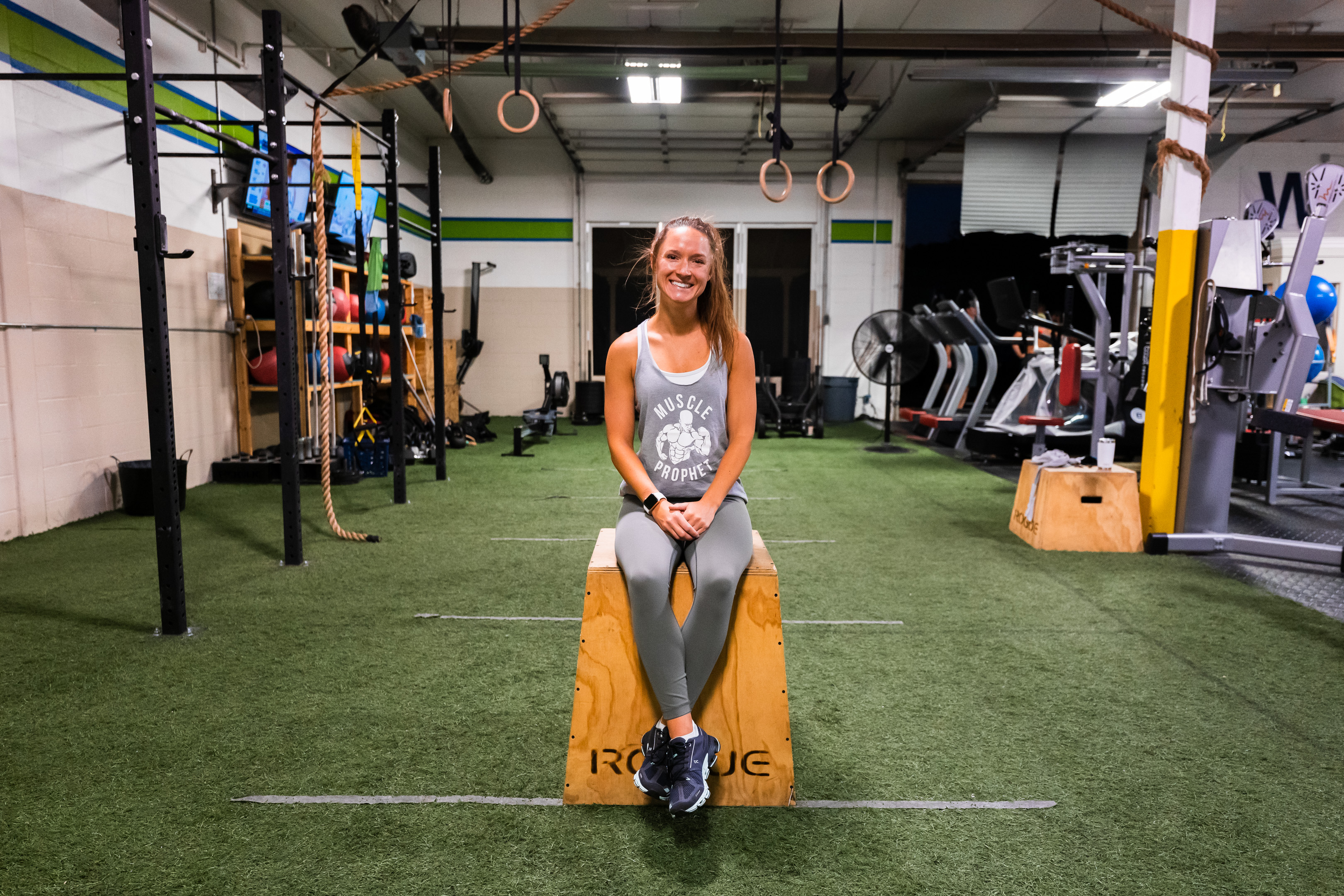 Chelsea Clark is a personal trainer at Prevail Grand Rapids located in Ada, Michigan.