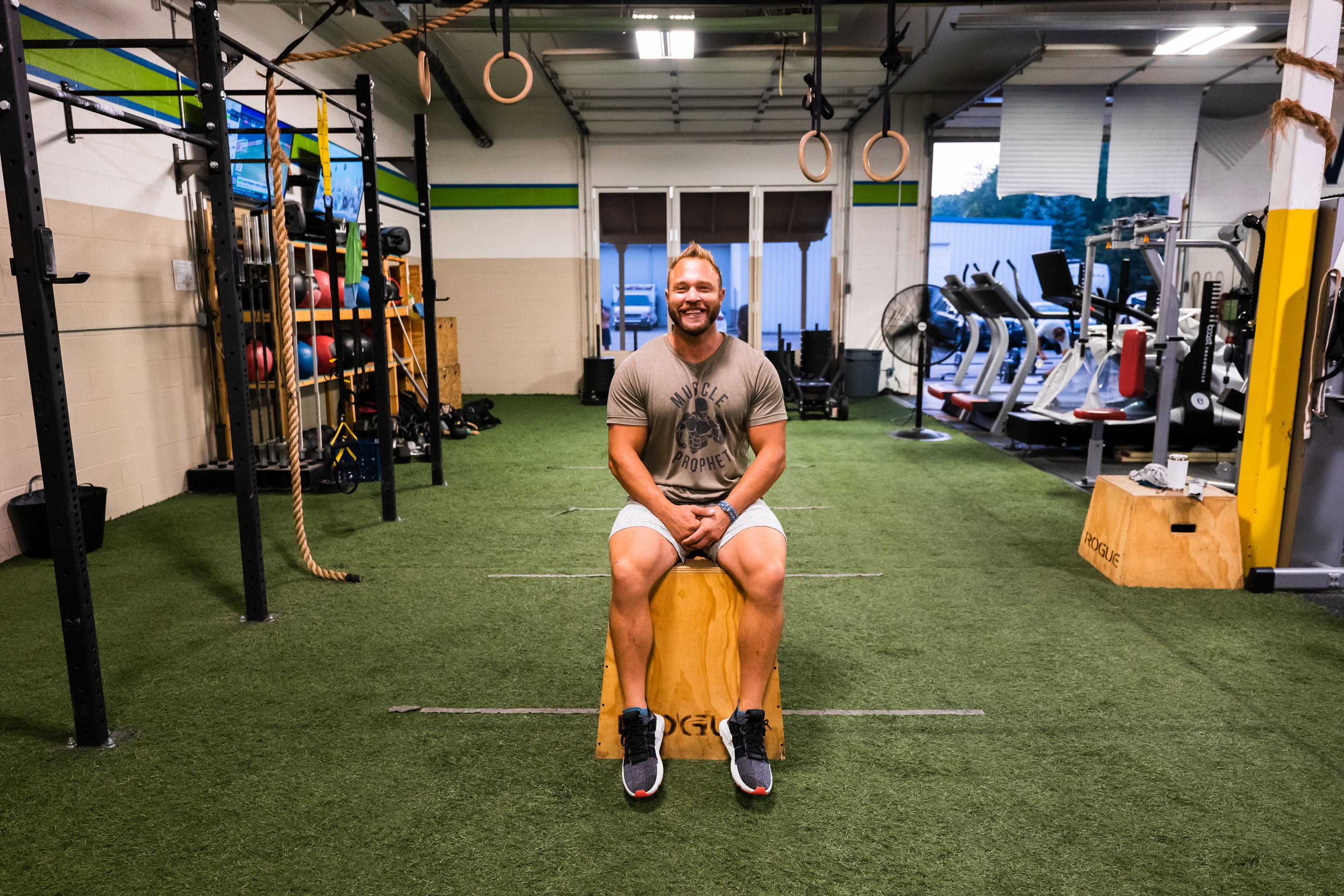 Mark Dominique is the owner and a personal trainer at Prevail Grand Rapids located in Ada, Michigan.