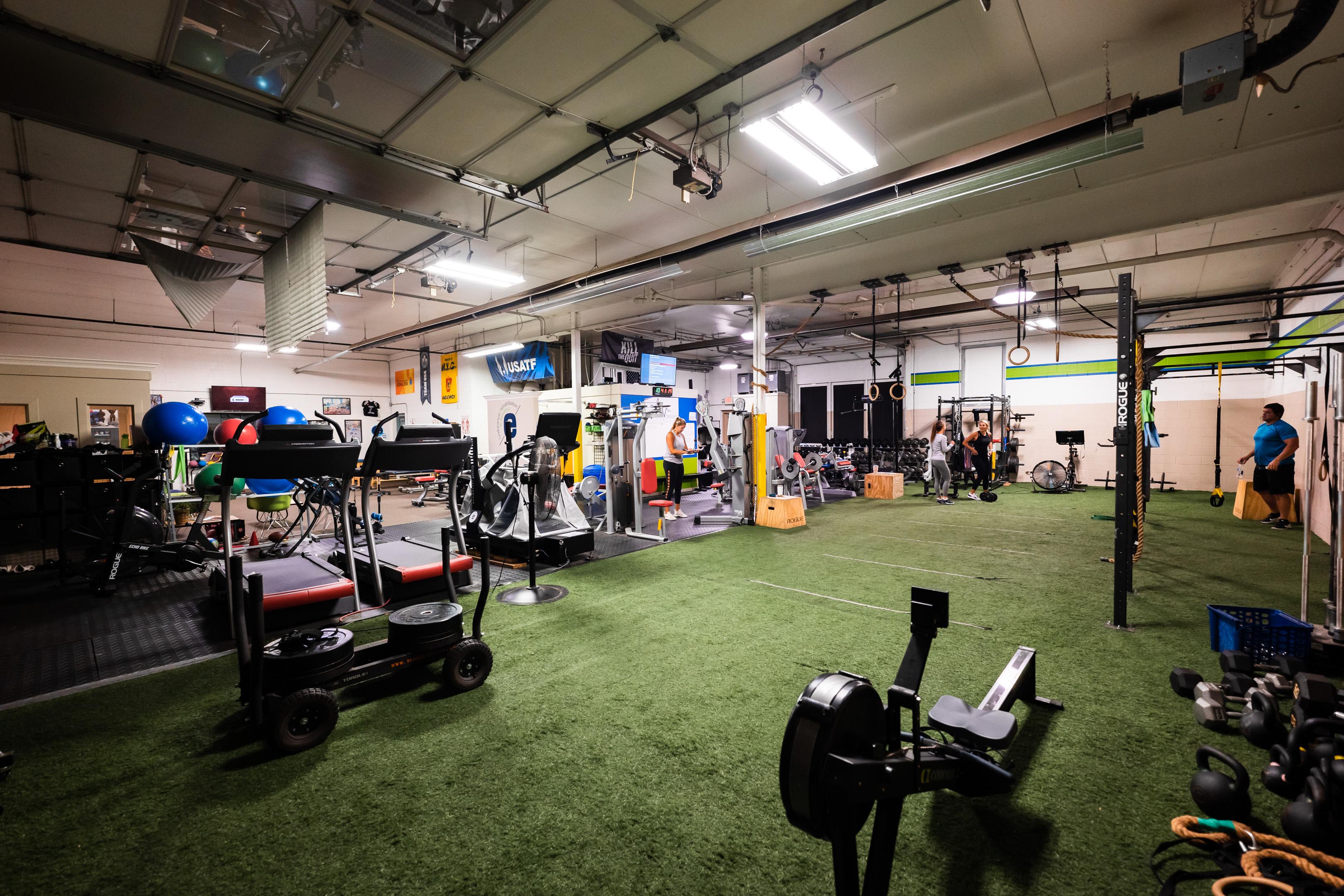 Prevail Grand Rapids gym located in Ada, Michigan