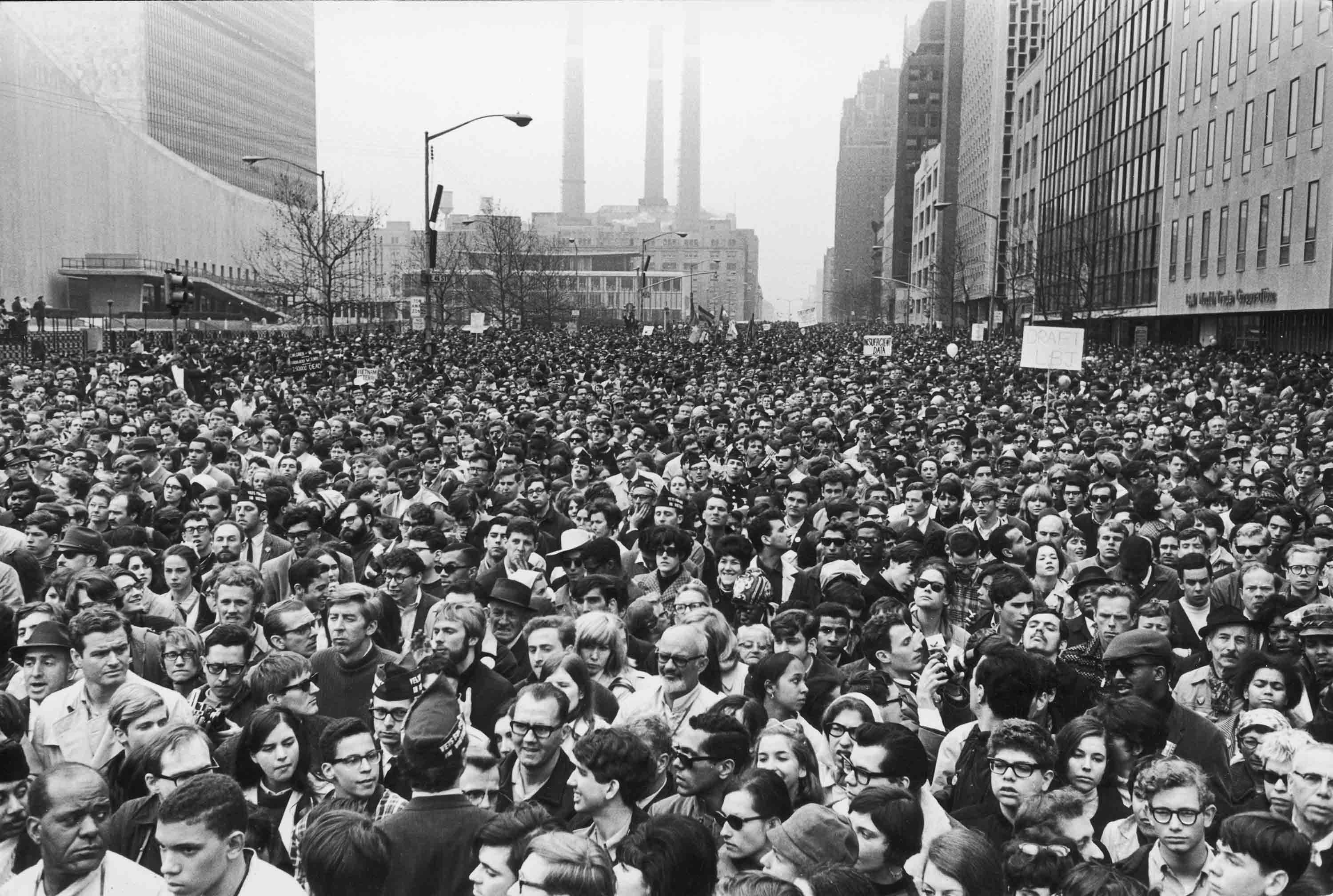 March Against the War in Vietnam, NYC, April 15, 1967