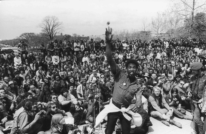 Vietnam Veterans Demonstrate at U.S. Capitol in Washington D.C., April 23, 1971