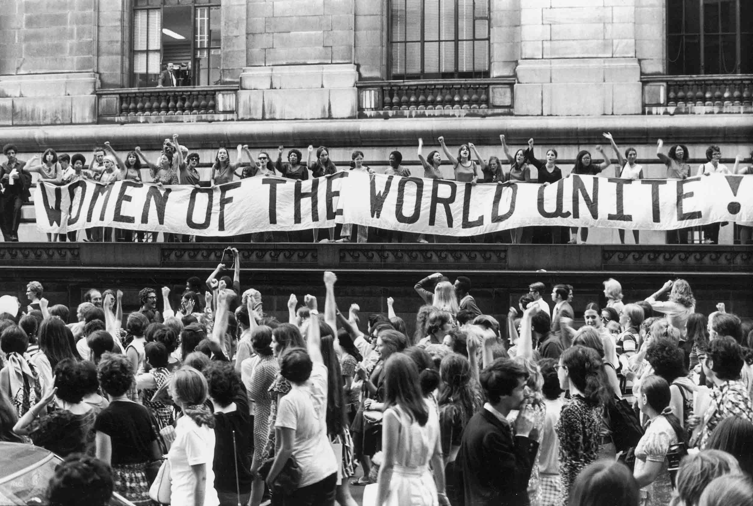 March to Commemorate the 50th Anniversary of Women's Suffrage in the United States, NYC, August 26, 1970