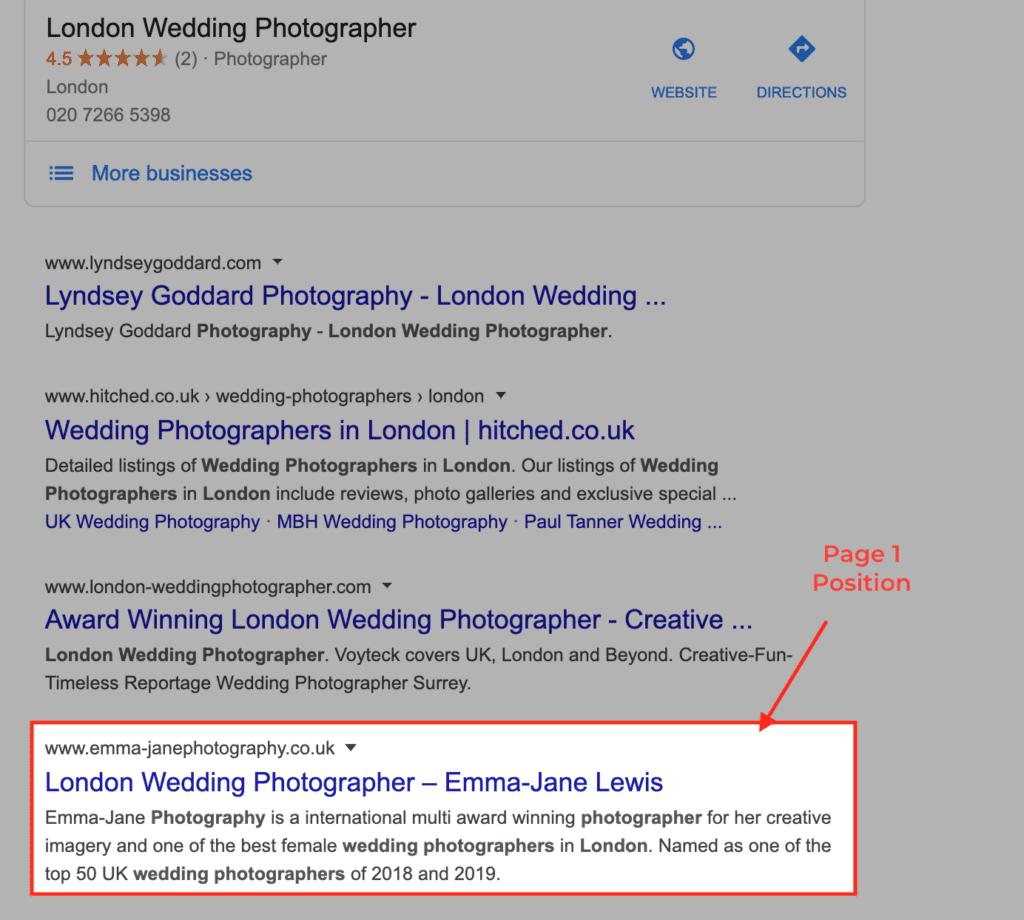 search london photographer