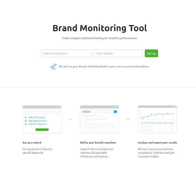 semrush brand monitoring