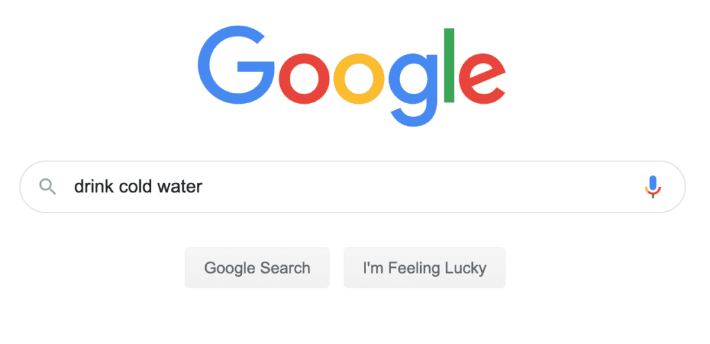 Google search research