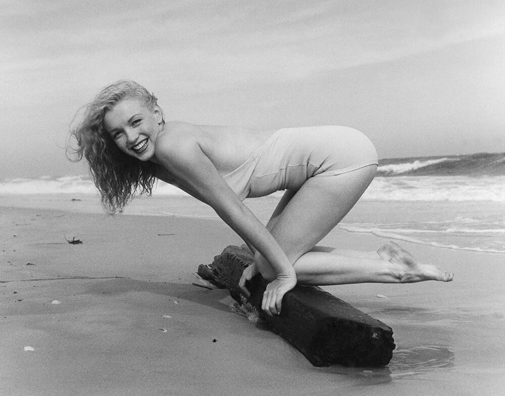 Marilyn Monroe - Beach