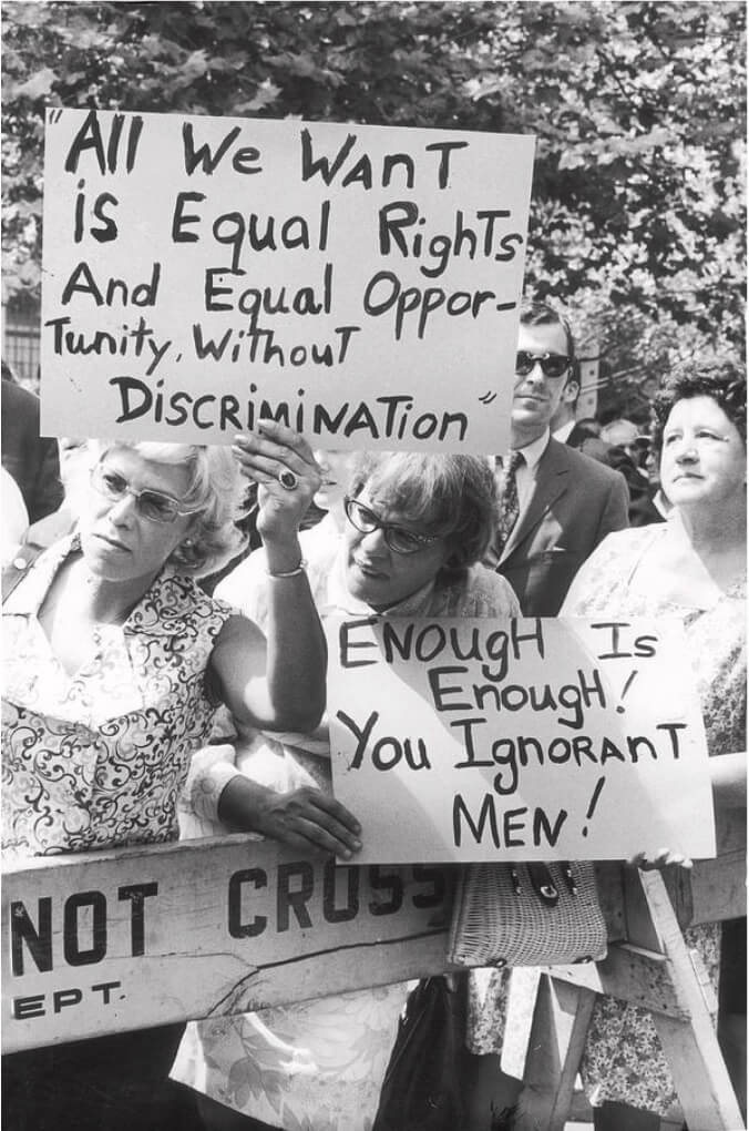 Equal Rights Amendment Rally During the 50th Anniversary of Women's Suffrage, NYC, August 26, 1970