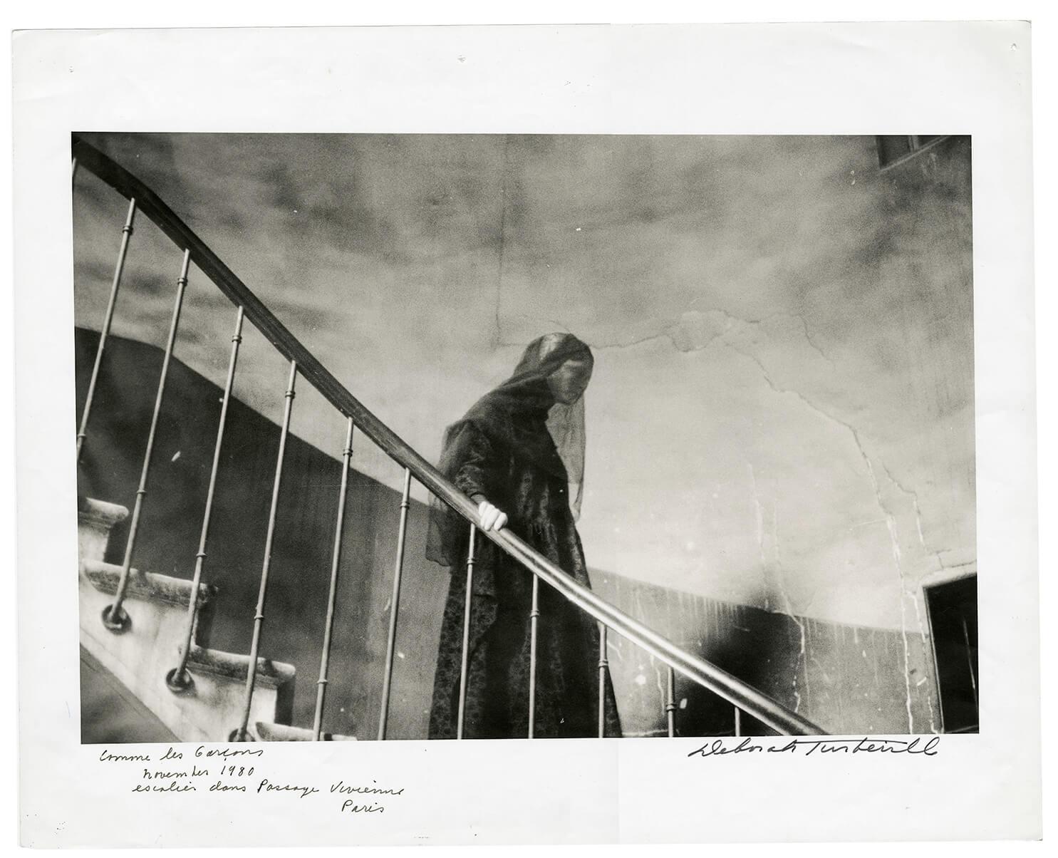 Comme des Garçons, Escalier dans Passage Vivienne, Paris, November 1980