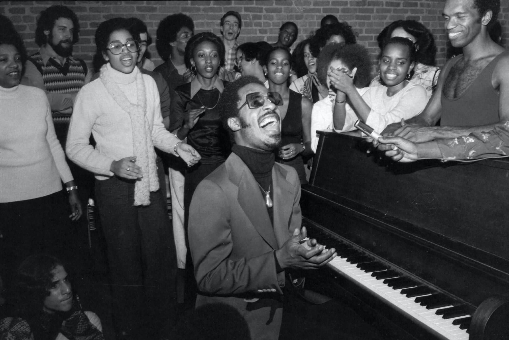 Stevie Wonder at the Dance Theatre of Harlem, 1976