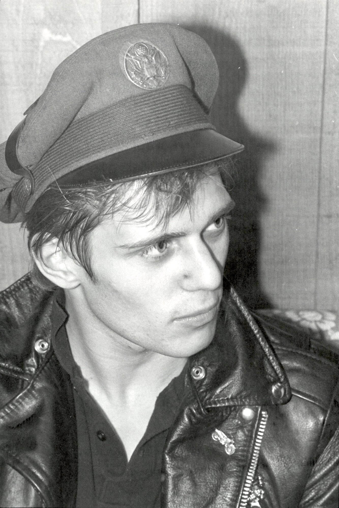 Paul Simonon of The Clash, 1979