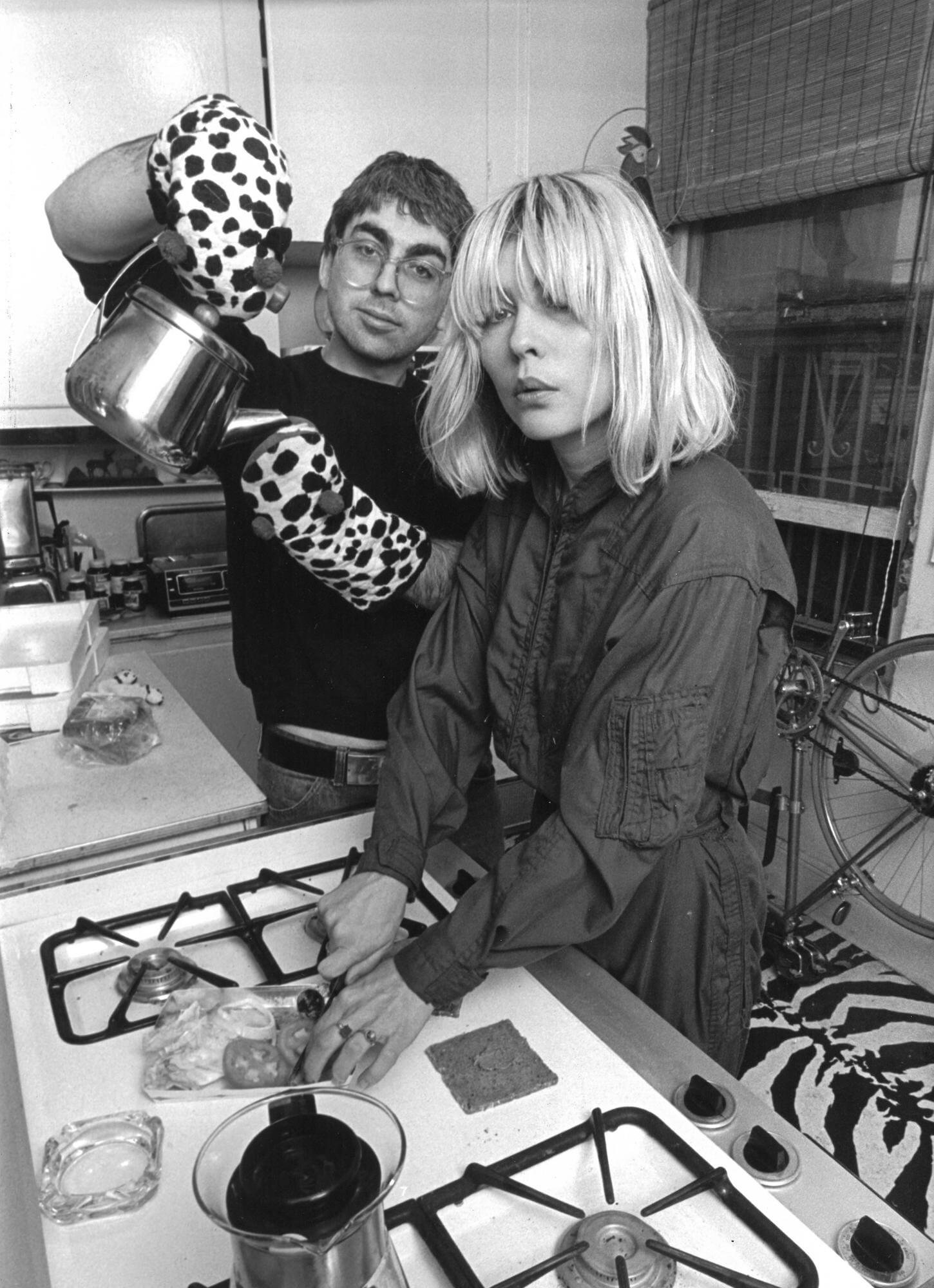 Blondie (Debbie Harry) in the Kitchen, 1981