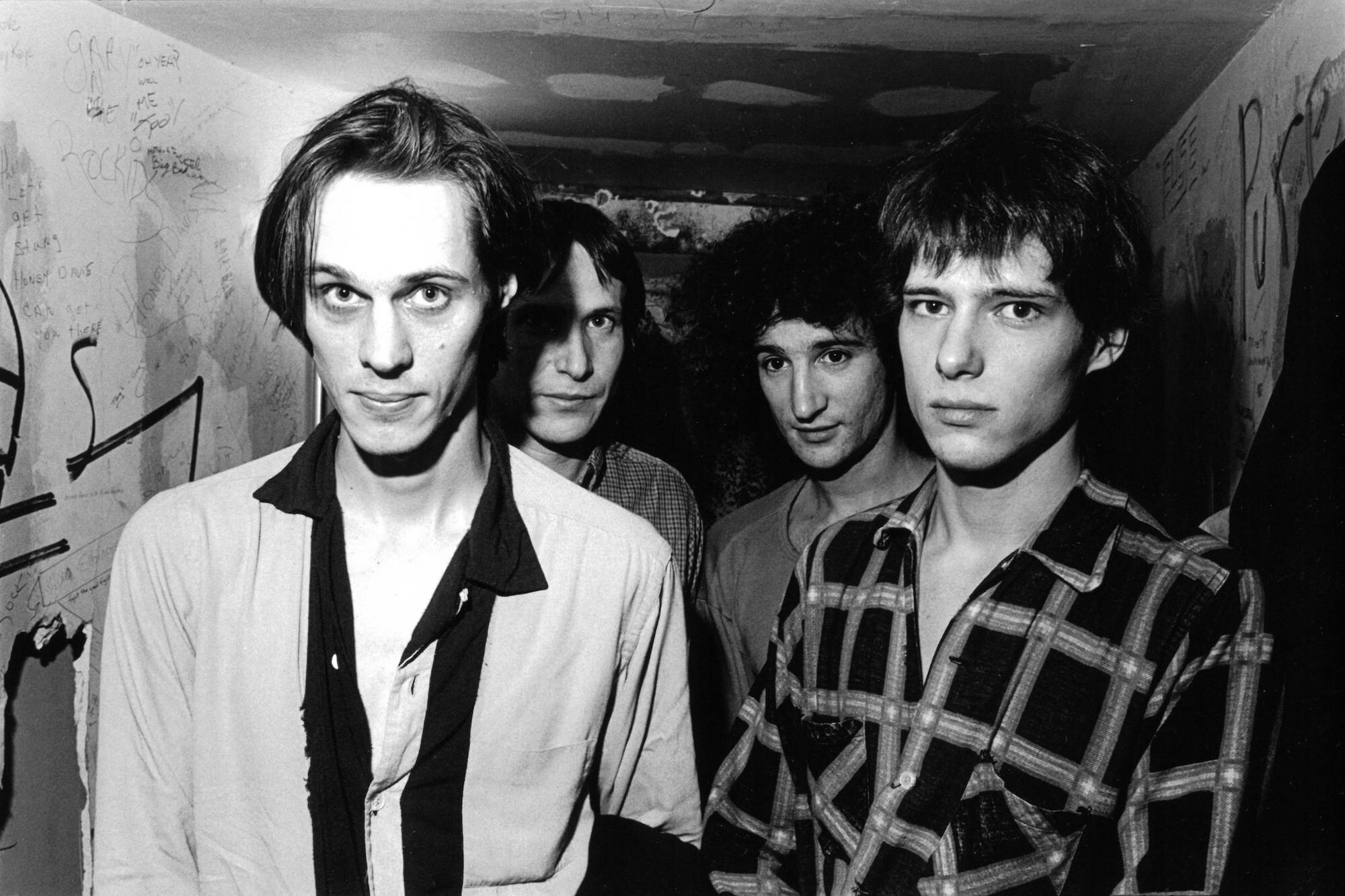Tom Verlaine with Television at CBGB