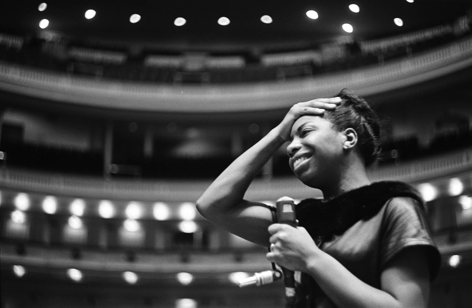Nina Simone at Carnegie Hall, 1964