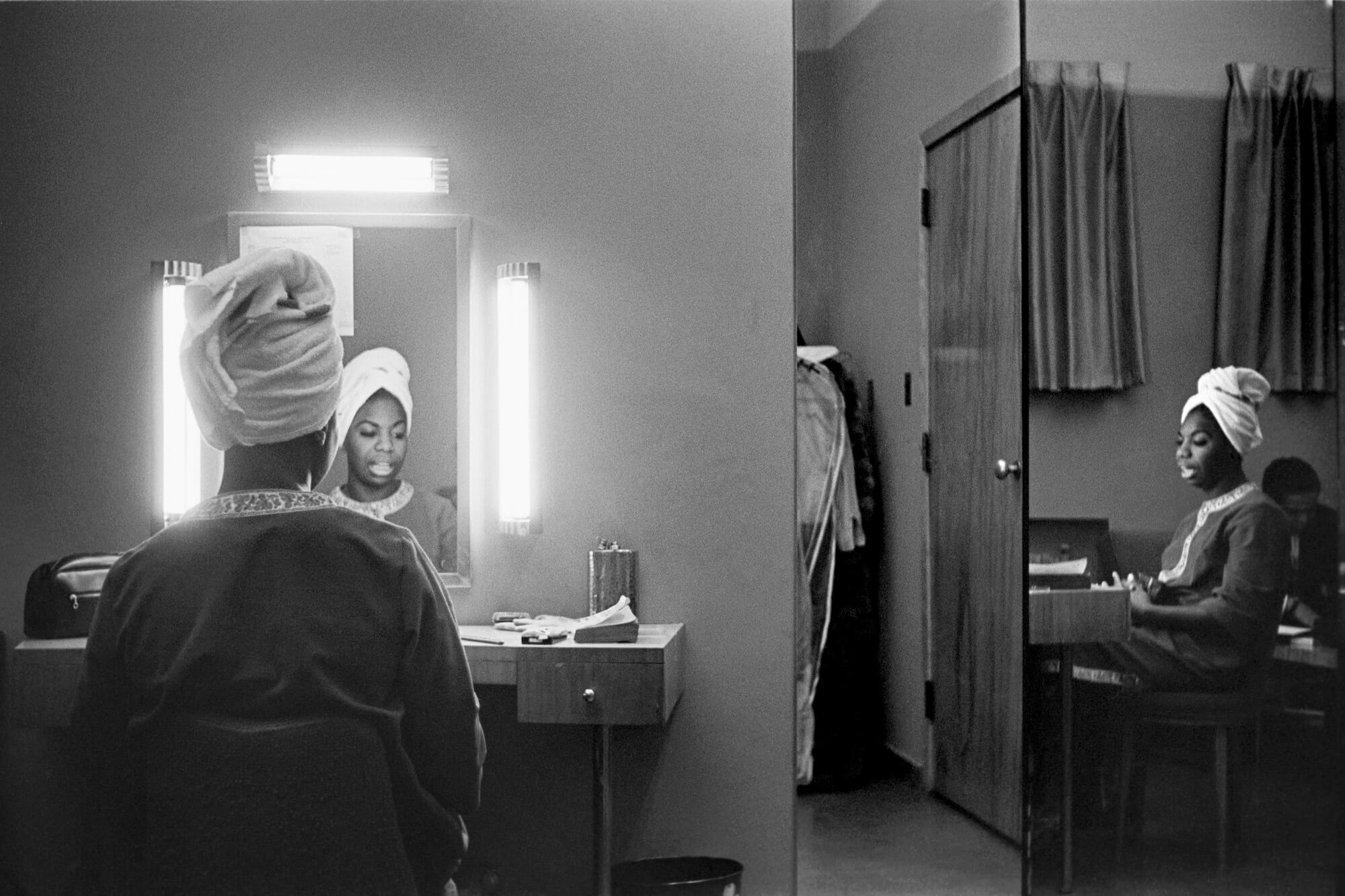 Nina Simone in a Motel Room in Buffalo, New York, 1964