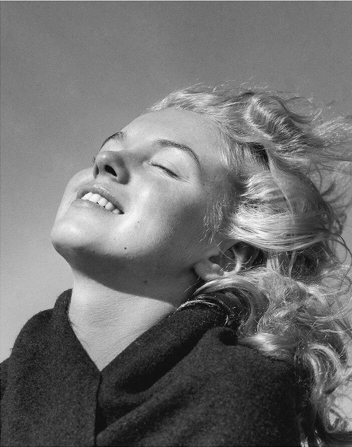 Marilyn Monroe on a Beach, North of Malibu, CA, 1946