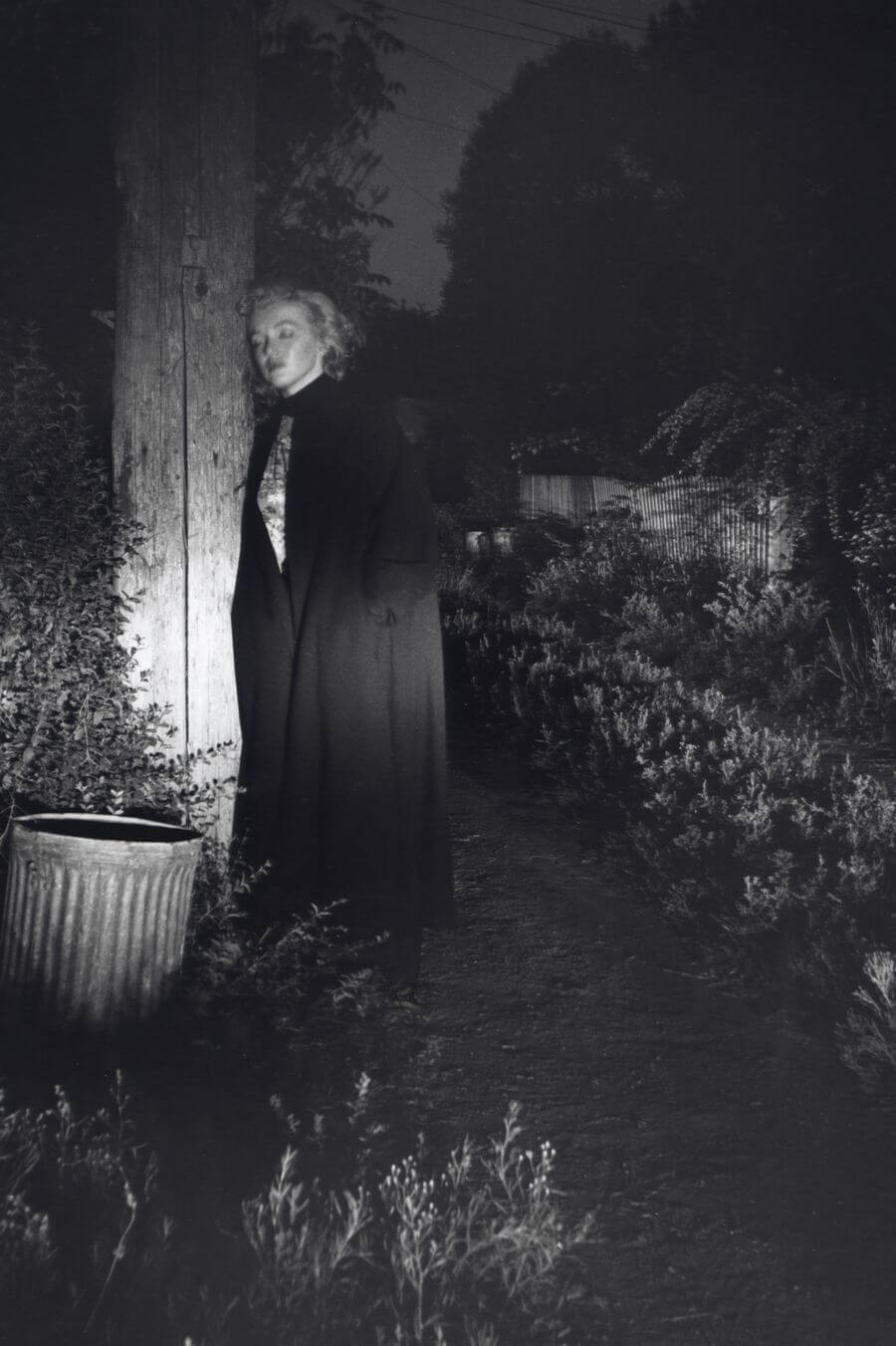 Marilyn Monroe in an Alley at Night, Beverly Hills, CA, 1953