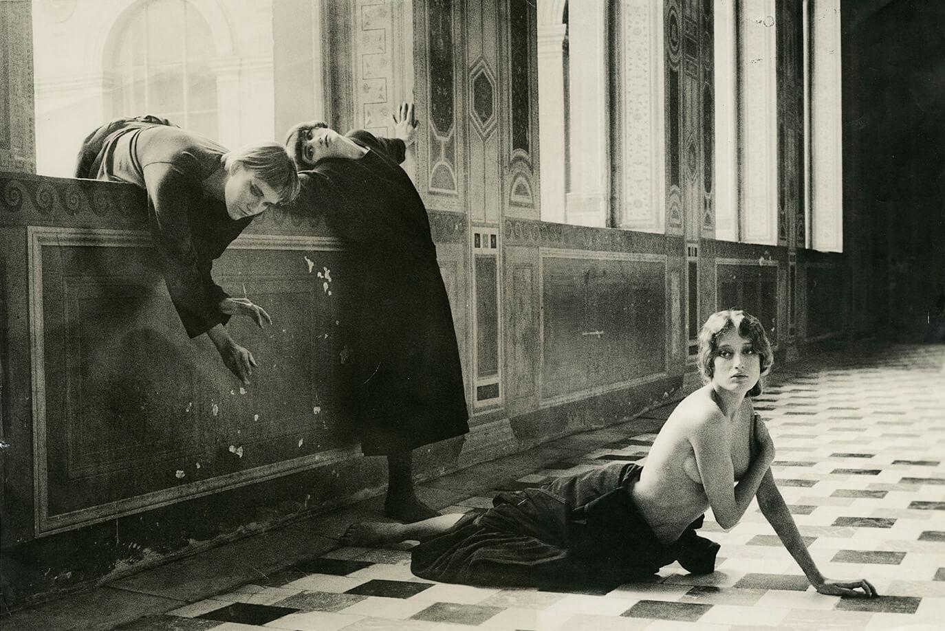 Women in Window