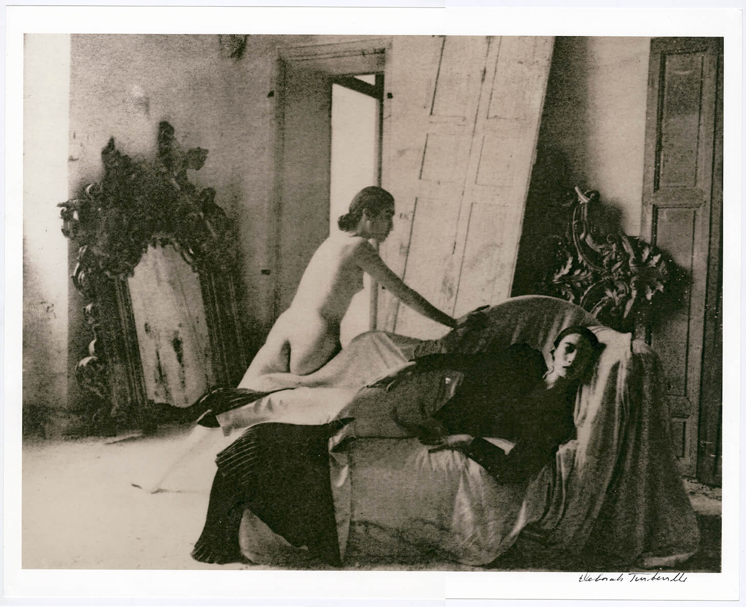 Untitled (Woman on Daybed),