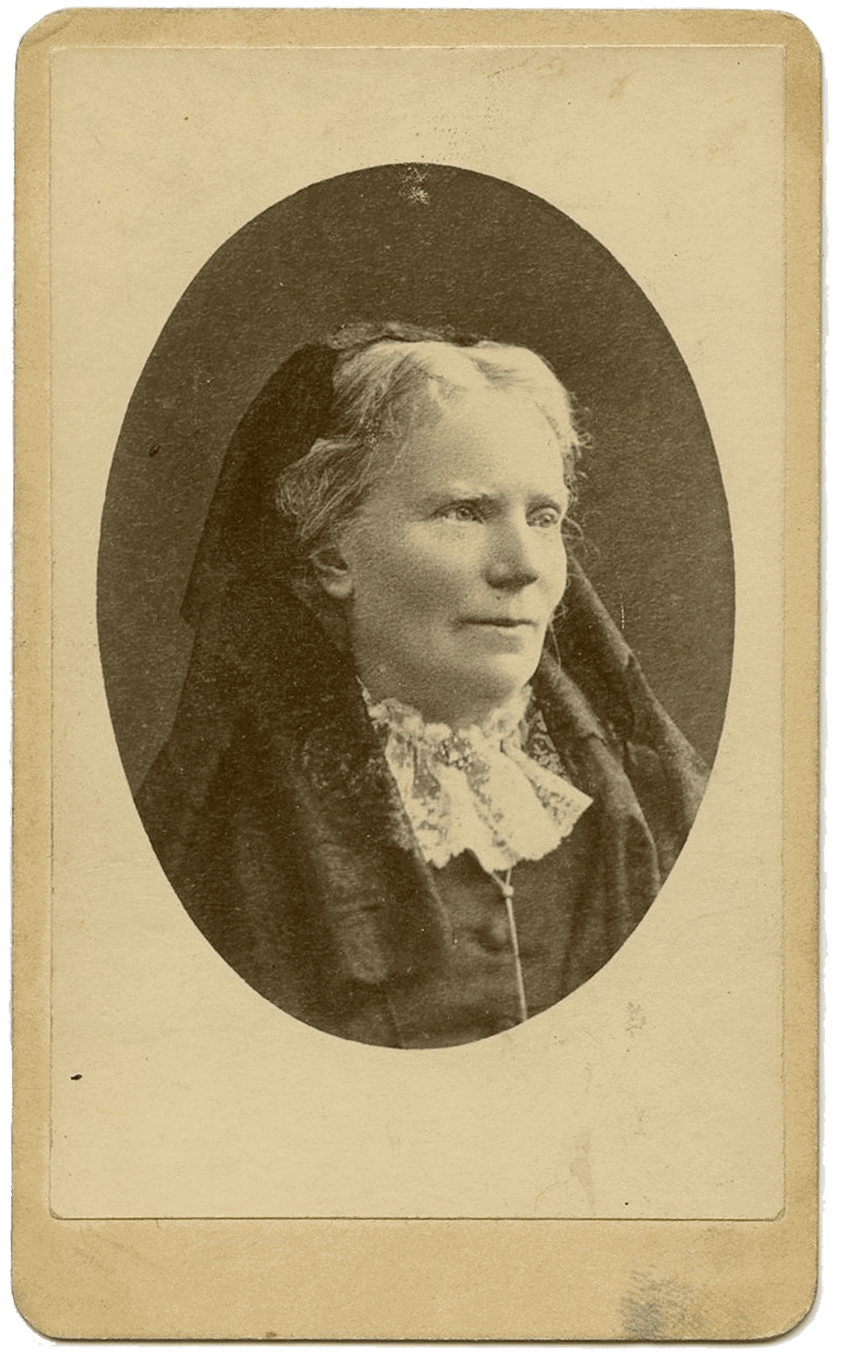 Dr. Emily Blackwell (1826-1910), Physician (Photo: Sarony Studio, NY)