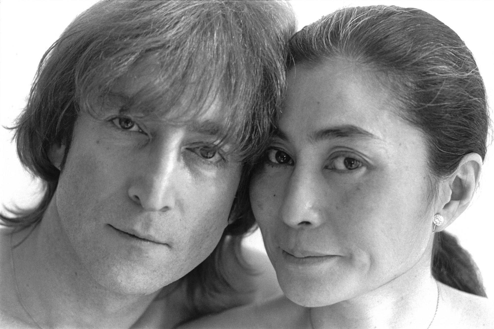 John Lennon and Yoko Ono, 1980