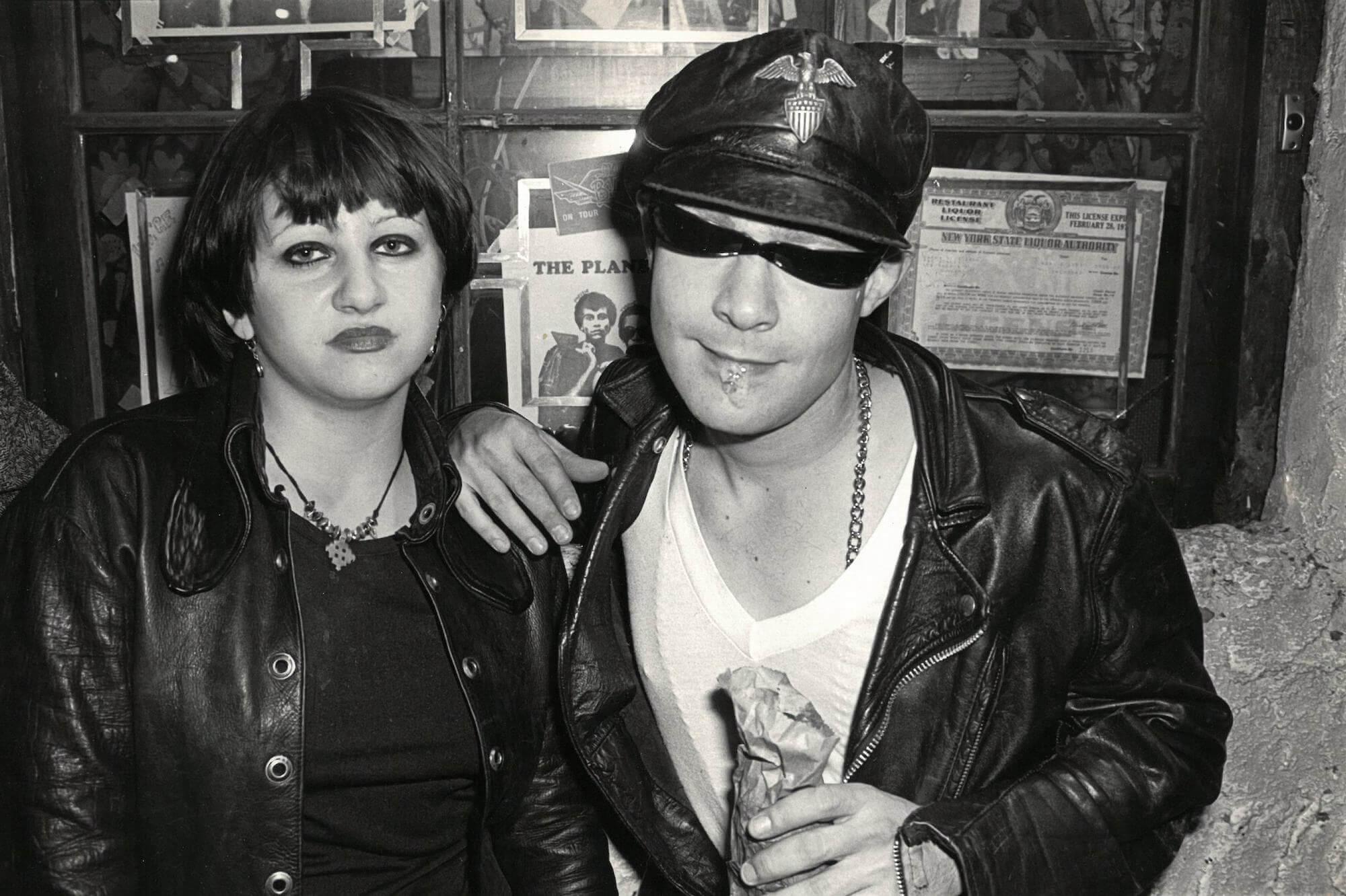 Punks Outside CBGB, 1977
