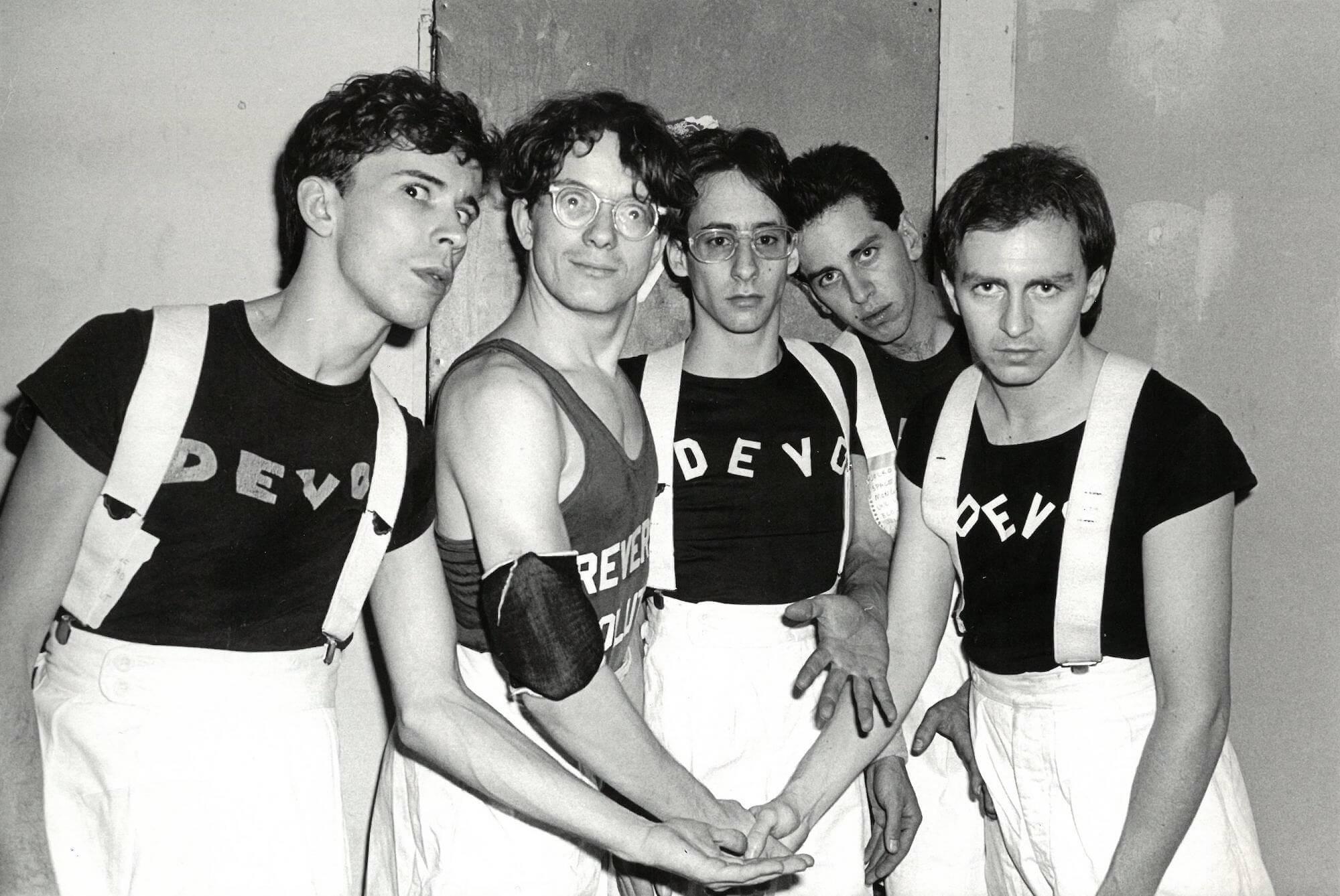 Devo at Max's Kansas City, 1977