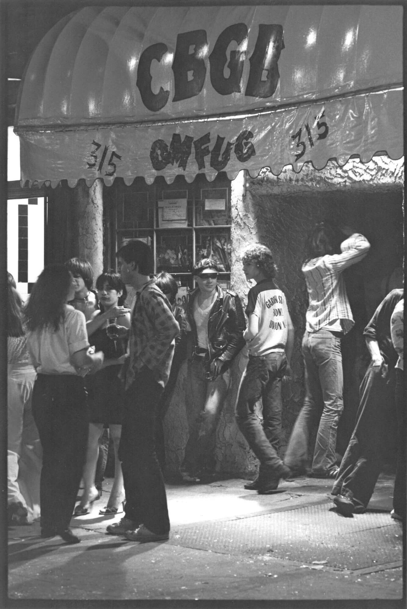 Exterior of CBGB nightclub