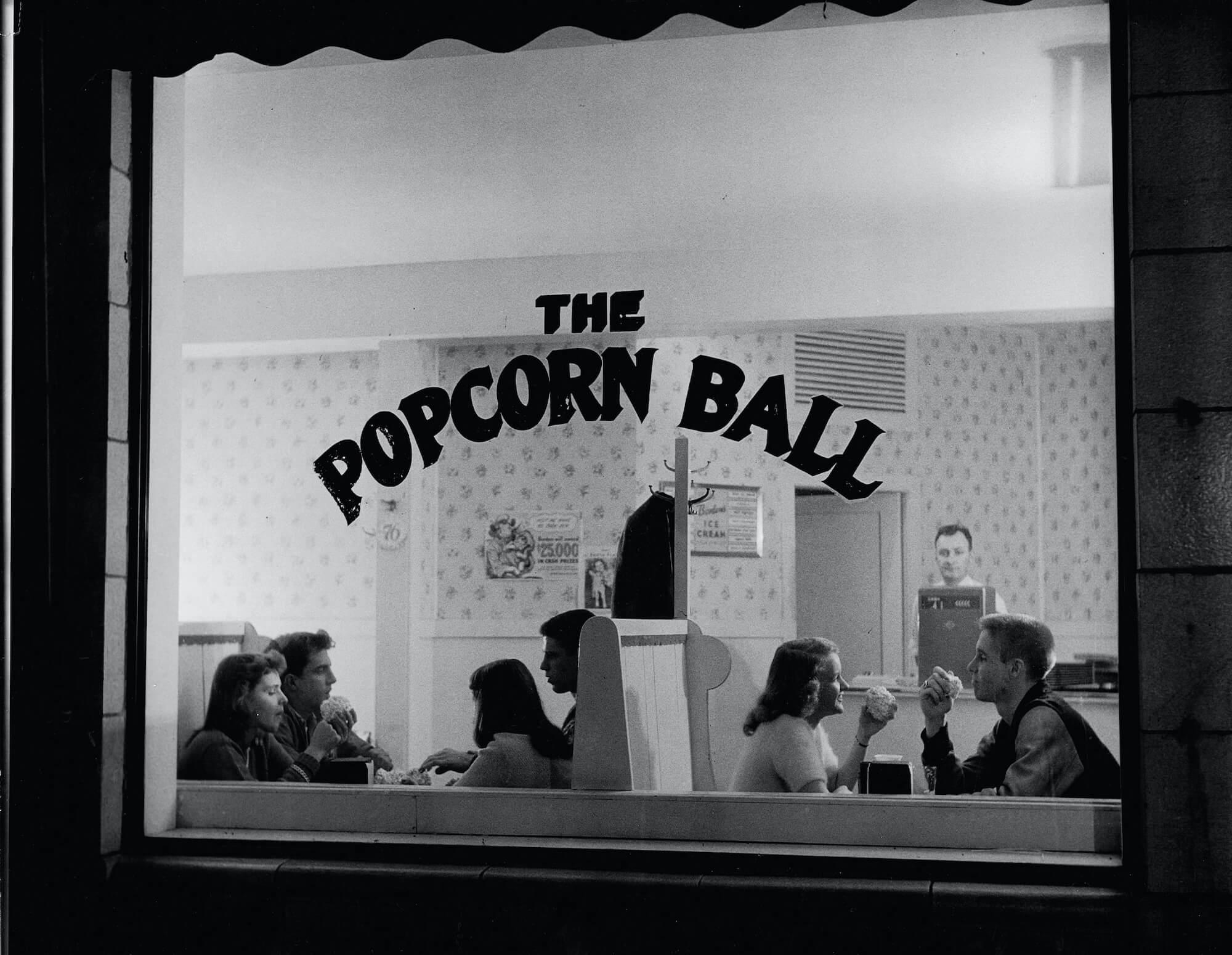 The Popcorn Ball, 1940s