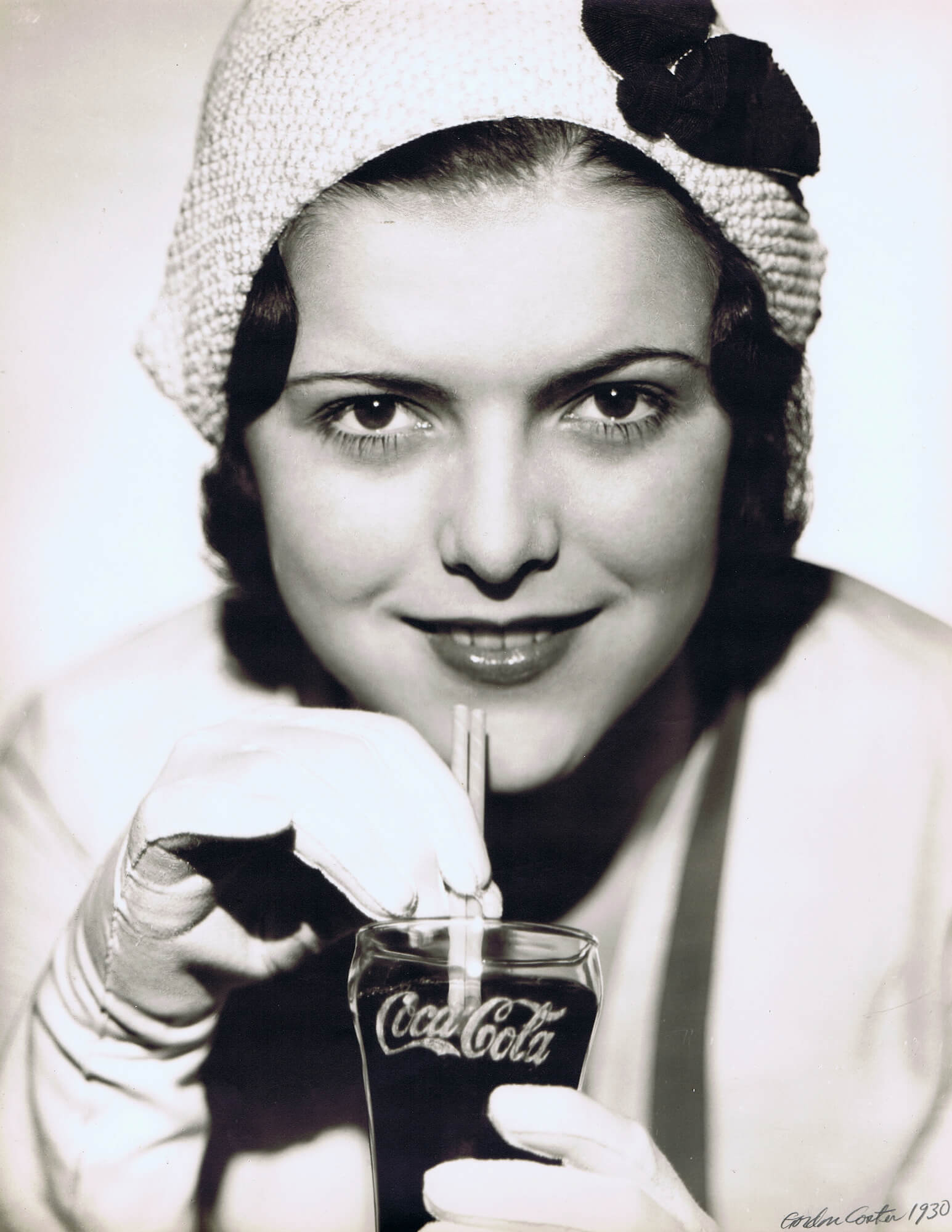 Coca Cola Advertisement, 1930
