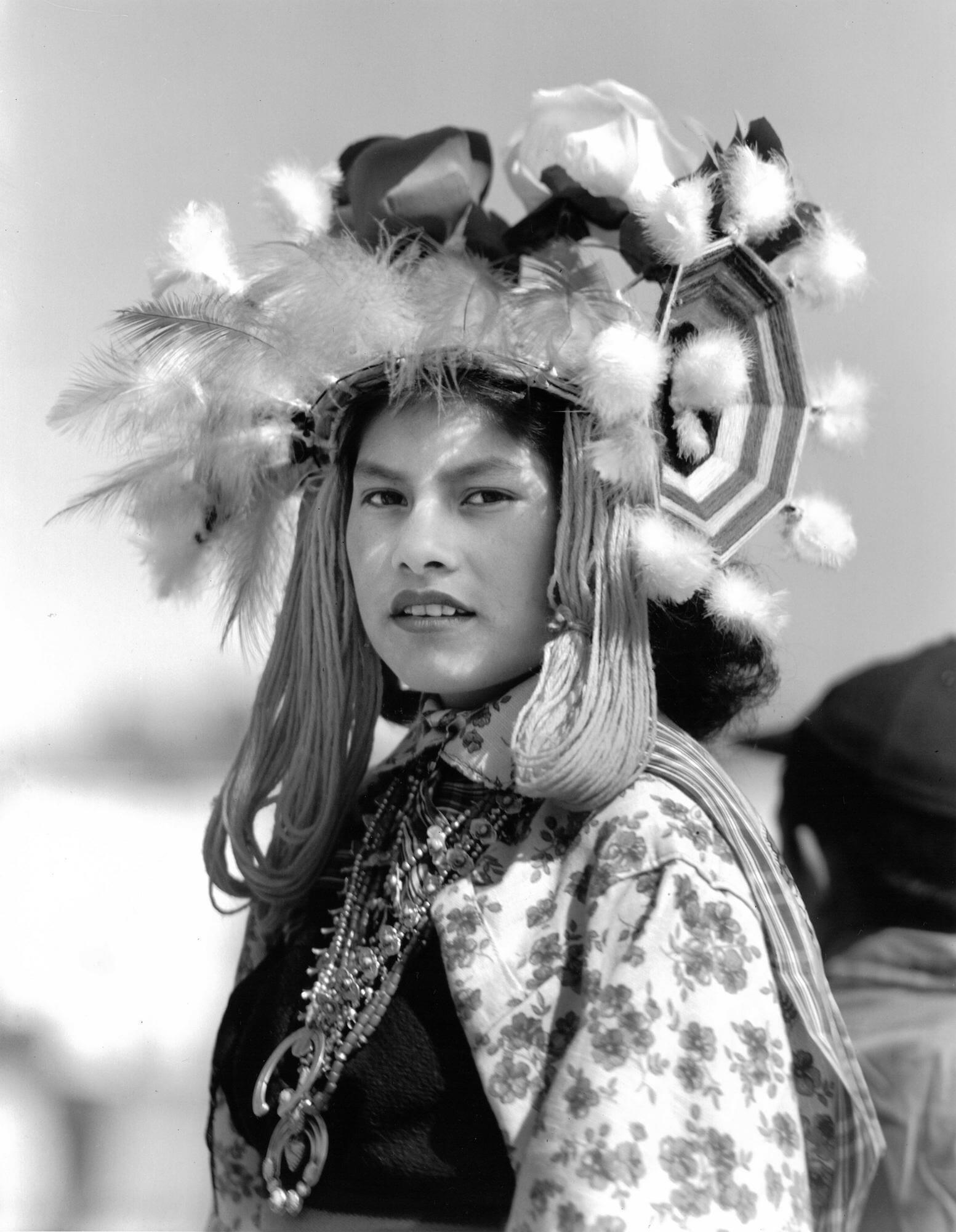 Young Hopi Woman, Arizona, 1940s