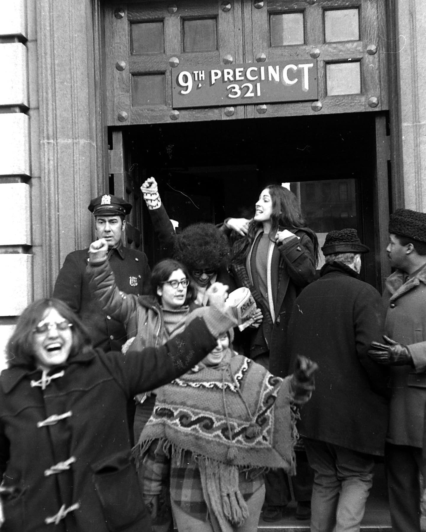 #Onthisday in 1971, a Women's Liberation March took place in NYC. The demonstrators invaded the 9th Precinct on 5th Street. Many were arrested that day.   📷©️Fred W. McDarrah/MUUS Collection   #photography #photooftheday #picoftheday #photographer #womensliberation #womensrights #equality #protest #demonstration #nyc #newyorkcity #newyork #manhattan #nypd #9thprecinct #5thstreet #womensmarch #feminism #feminist #womensupportingwomen #empoweringwomen #protest #protestors #history #todayinhistory #otd #fromthearchives #blackandwhite #documentaryphotography #blackandwhitephotography