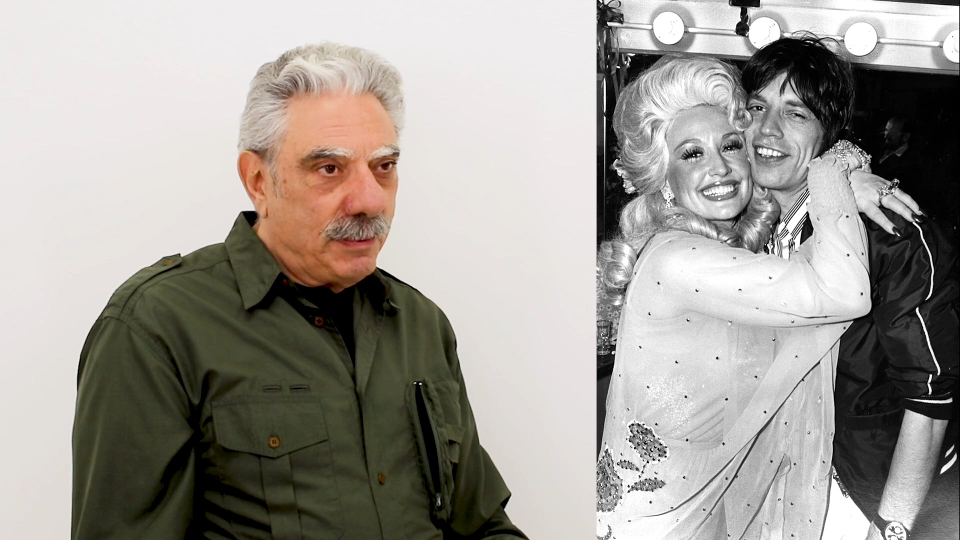 Photographer Allan Tannenbaum discusses Dolly Parton and Mick Jagger