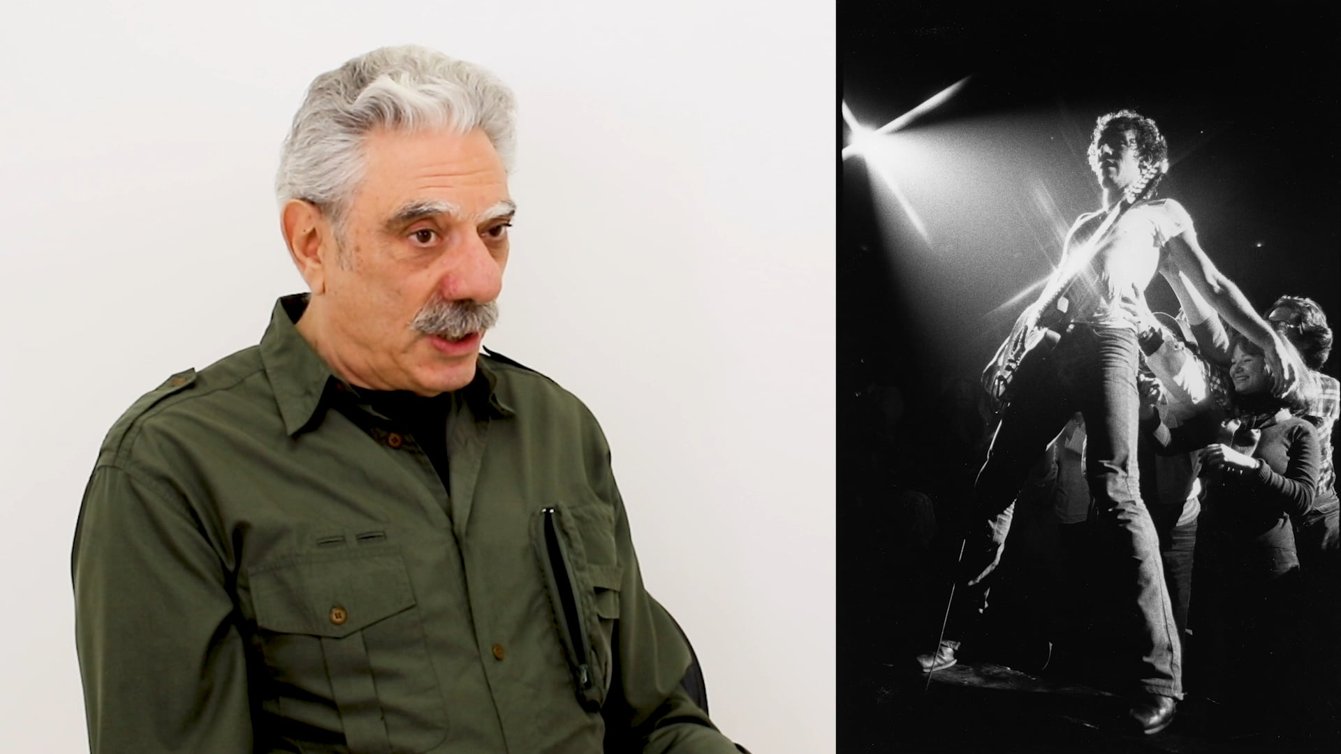 Photographer Allan Tannenbaum discusses Bruce Springsteen