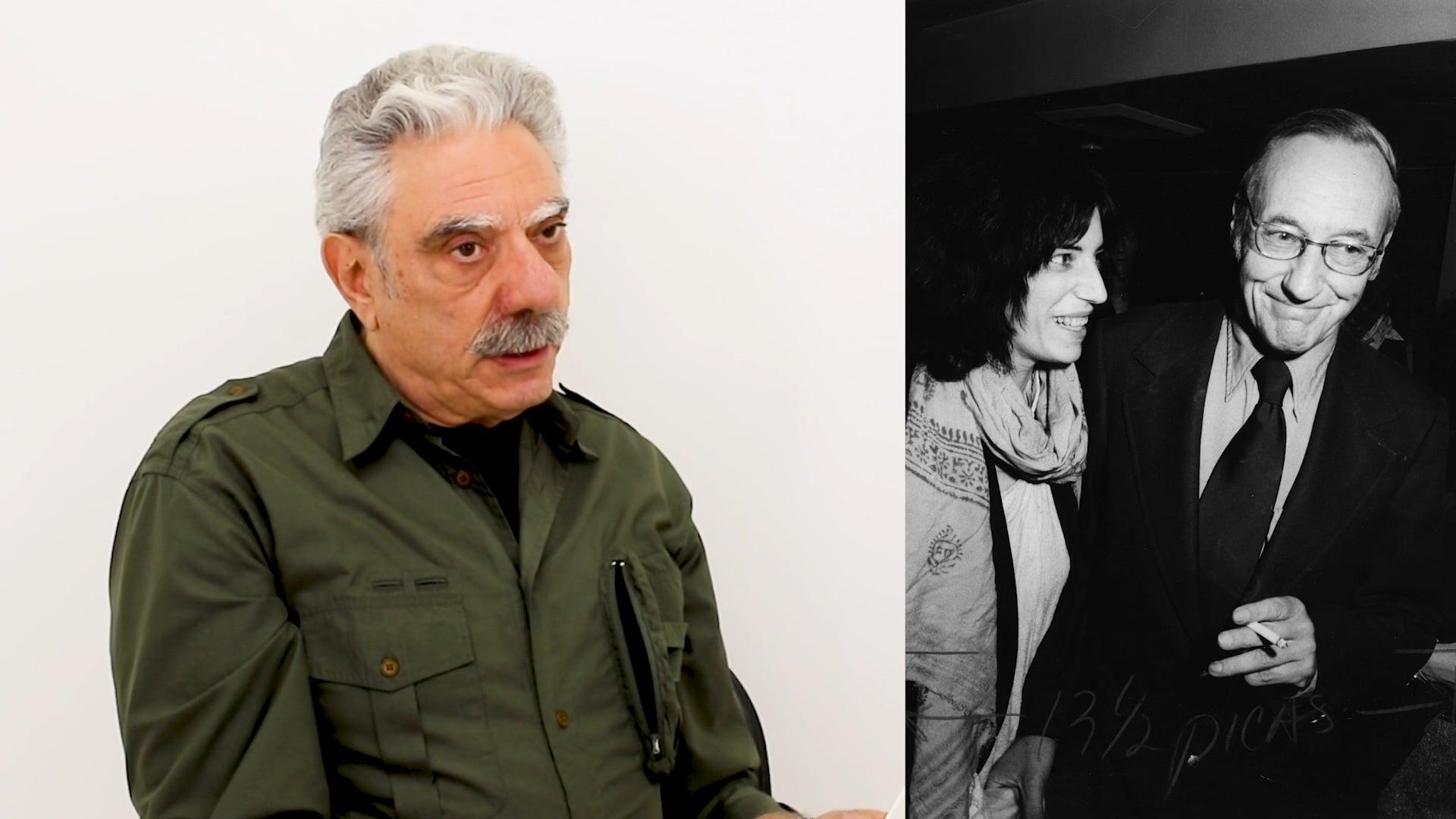 Photographer Allan Tannenbaum discusses Patti Smith and William Burroughs