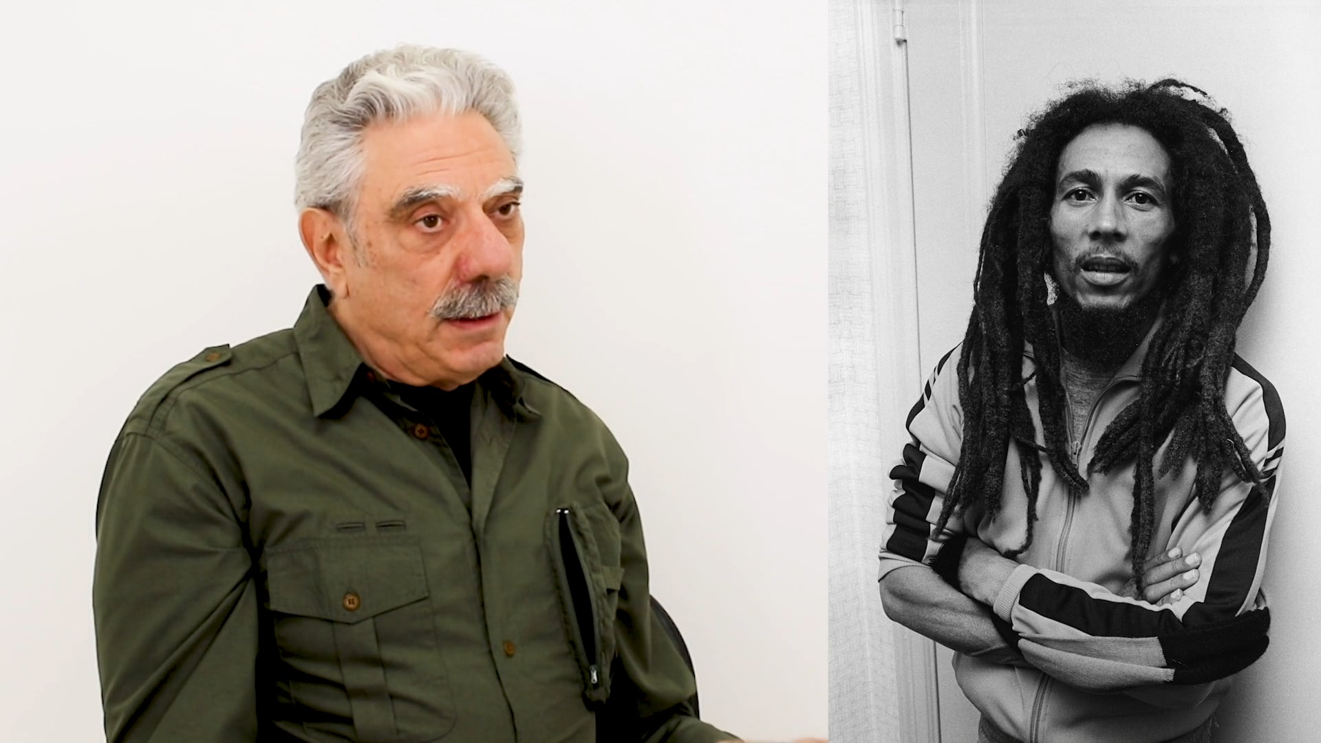 Photographer Allan Tannenbaum discusses Bob Marley