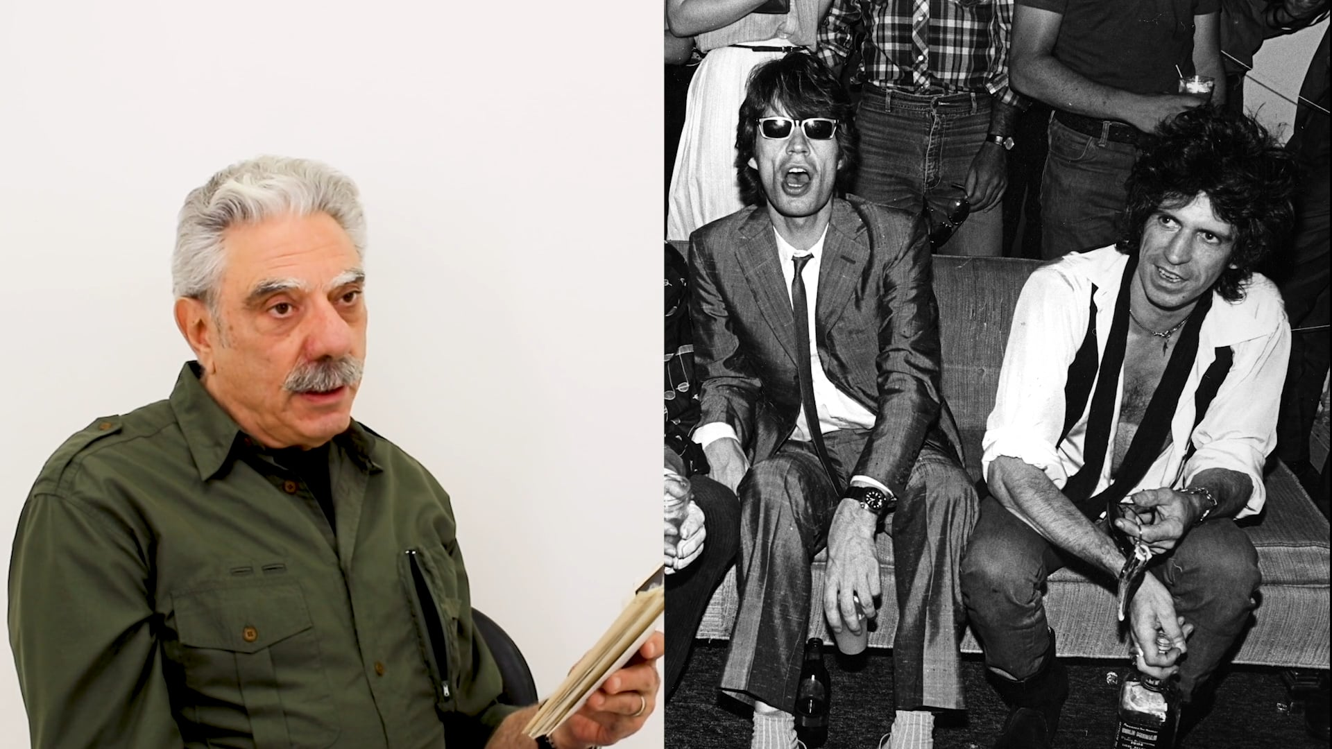 Photographer Allan Tannenbaum discusses Rolling Stones