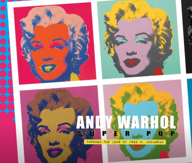 Andy Warhol Superpop Exhibition in Italy Stupiniggi