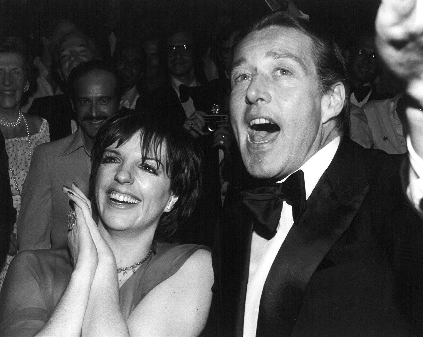 """""""From that time, I never did a show or went to a party — or threw one — without him guiding me. Every show I did, I performed in his living room first. In him there was tastefulness, style, and simplicity.""""  Liza Minnelli met fashion designer Halston when she was 20 years old, and the two hit it off immediately, sparking a lifelong friendship. We're putting the spotlight on them today for #InternationalDayofFriendship.  Once Minnelli and Halston met, Halston dressed her for all of her events, and Minnelli would often perform at his. Just one of the notable designs Halston put on Minnelli was the all-yellow ensemble she wore to the 1973 Oscars, where she accepted the """"Best Actress"""" award for her role in Cabaret. She also performed the song """"Bonjour Paris!"""" at the Battle of Versailles fashion show, in which 5 American designers including Halston faced off against 5 French designers, in one of the first instances of American designers showing their work in France.  Even after Halston was deposed from his company, the two remained close. They were inseparable right until the time of Halston's passing in 1990, due to AIDs-related cancer. To this day, Minnelli holds their friendship close to her heart, and refuses to give Halston anything but praise in the public eye.  Halston's and Minnelli's stories have also recently been told in the Netflix series """"Halston"""", featuring Ewan McGregor as the designer, and Krysta Rodriguez as Minnelli.  Here, the two enjoy a party at Studio 54 in New York City. which they habitually frequented together. Shot by Allan Tannenbaum @soho_blues.  © Allan Tannenbaum//MUUS Collection"""