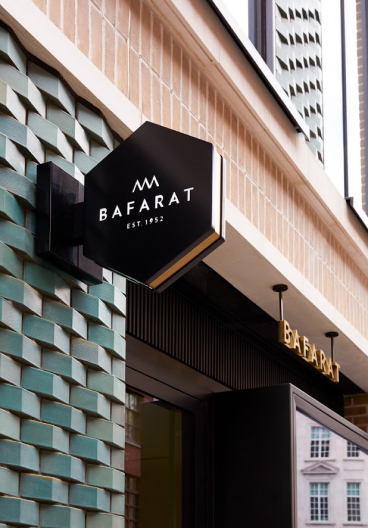 Bafarat London cafe Front