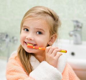 Brushing Teeth - Pediatric Dentist in Topeka, KS