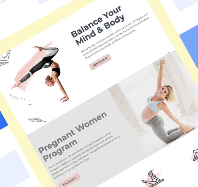 Health & Wellness Templates