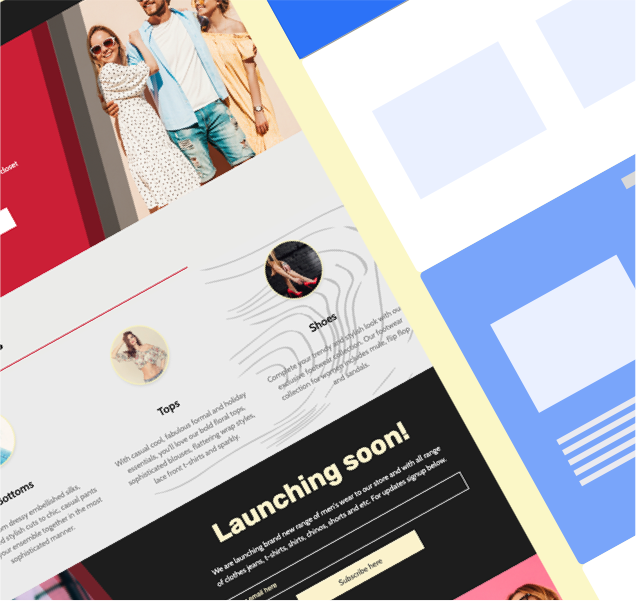 Apparel & Fashion Templates