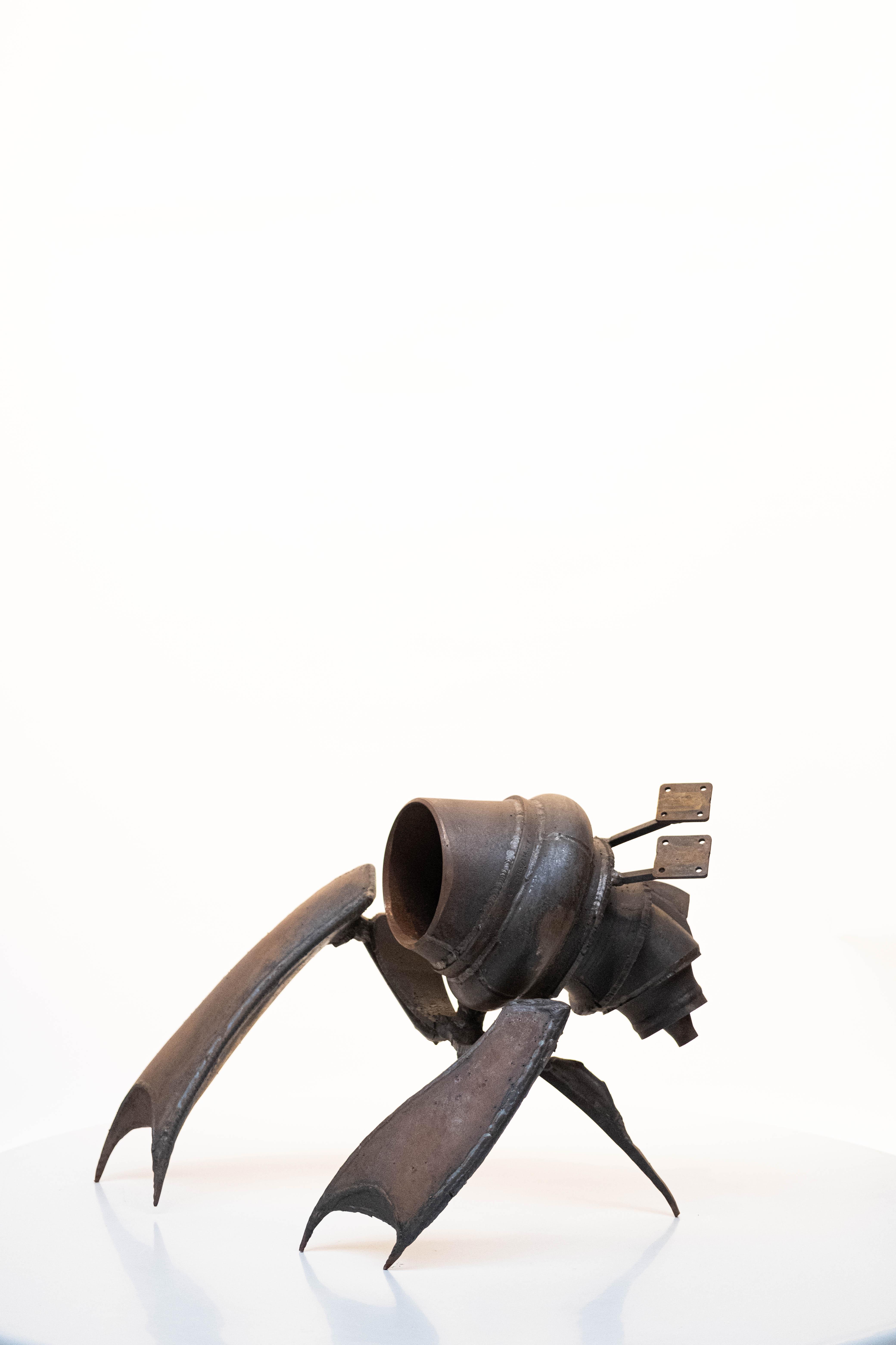 sculpture metal decoration outdoor design art crab