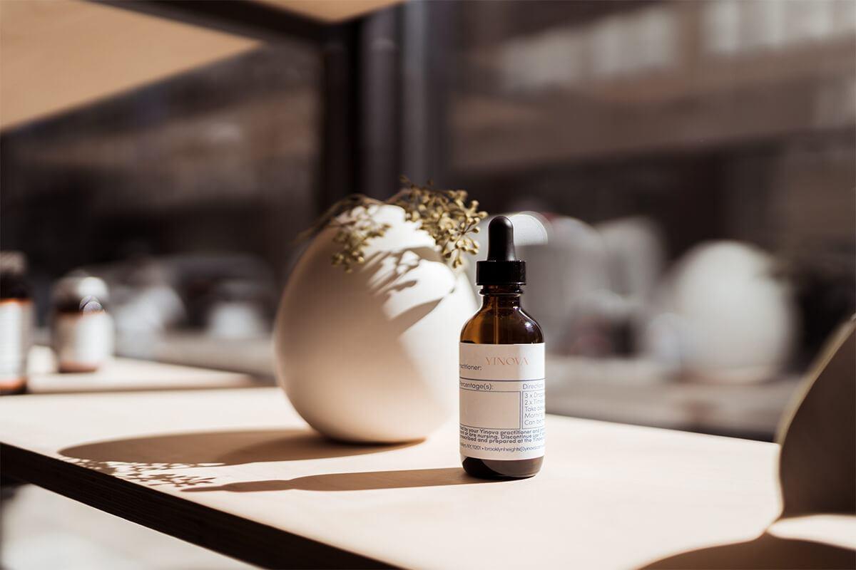 yinova product on a windowsill