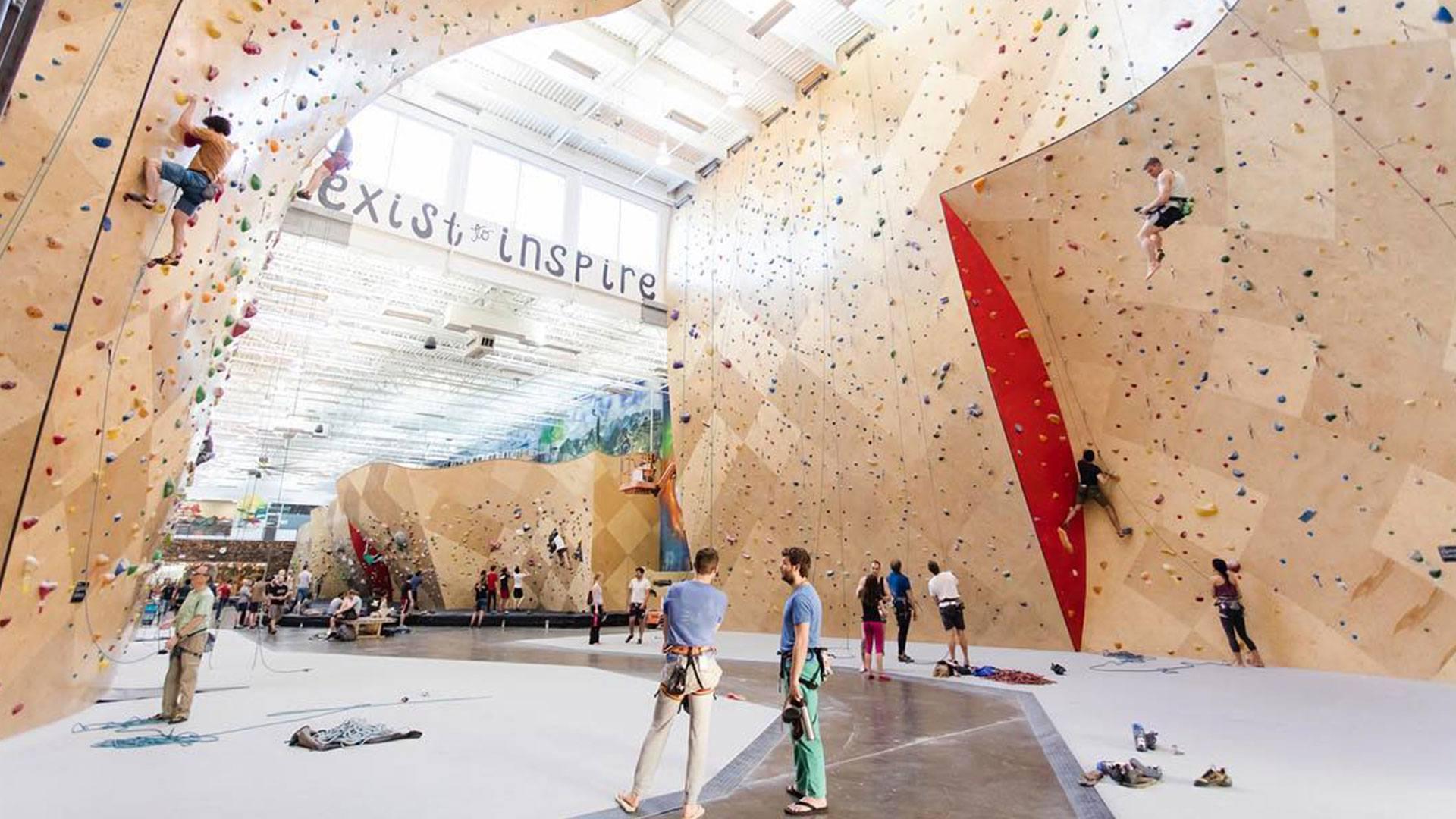 Brooklyn Boulders Queensbridge Facility