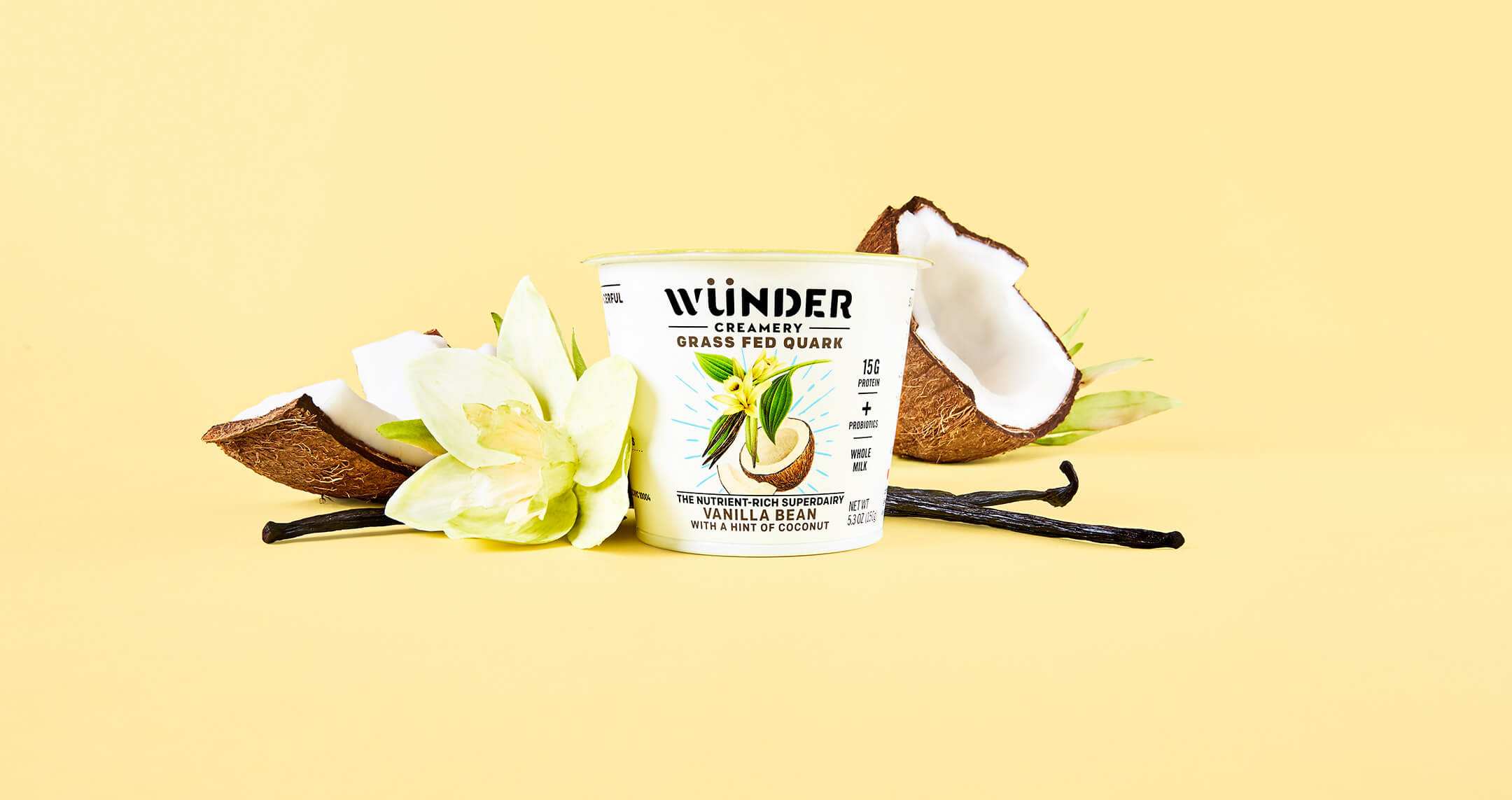 Wunder Creamery Product Photography